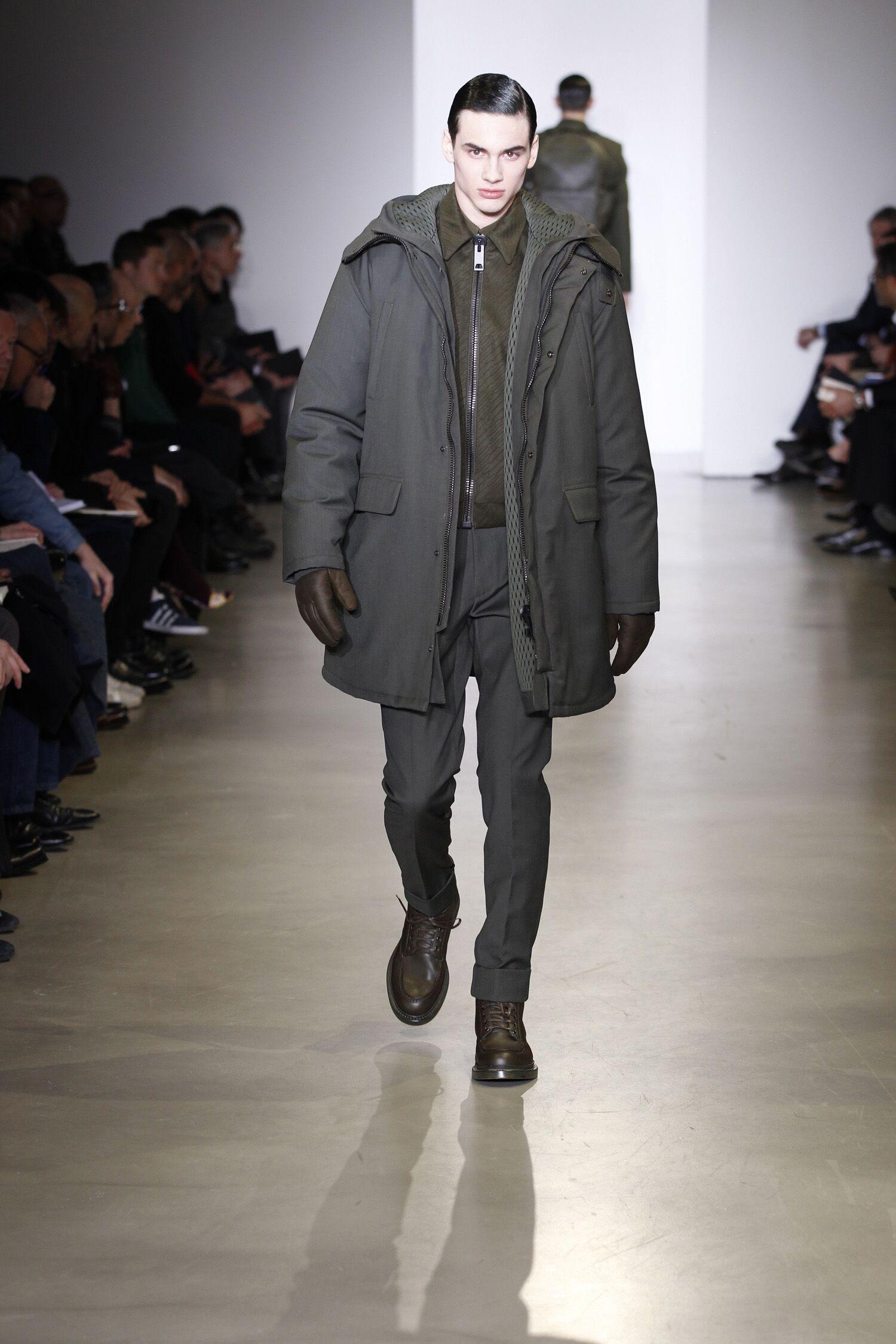 Calvin Klein Collection Fall Winter 2014 15 Men Milan Fashion Week Fashion Show