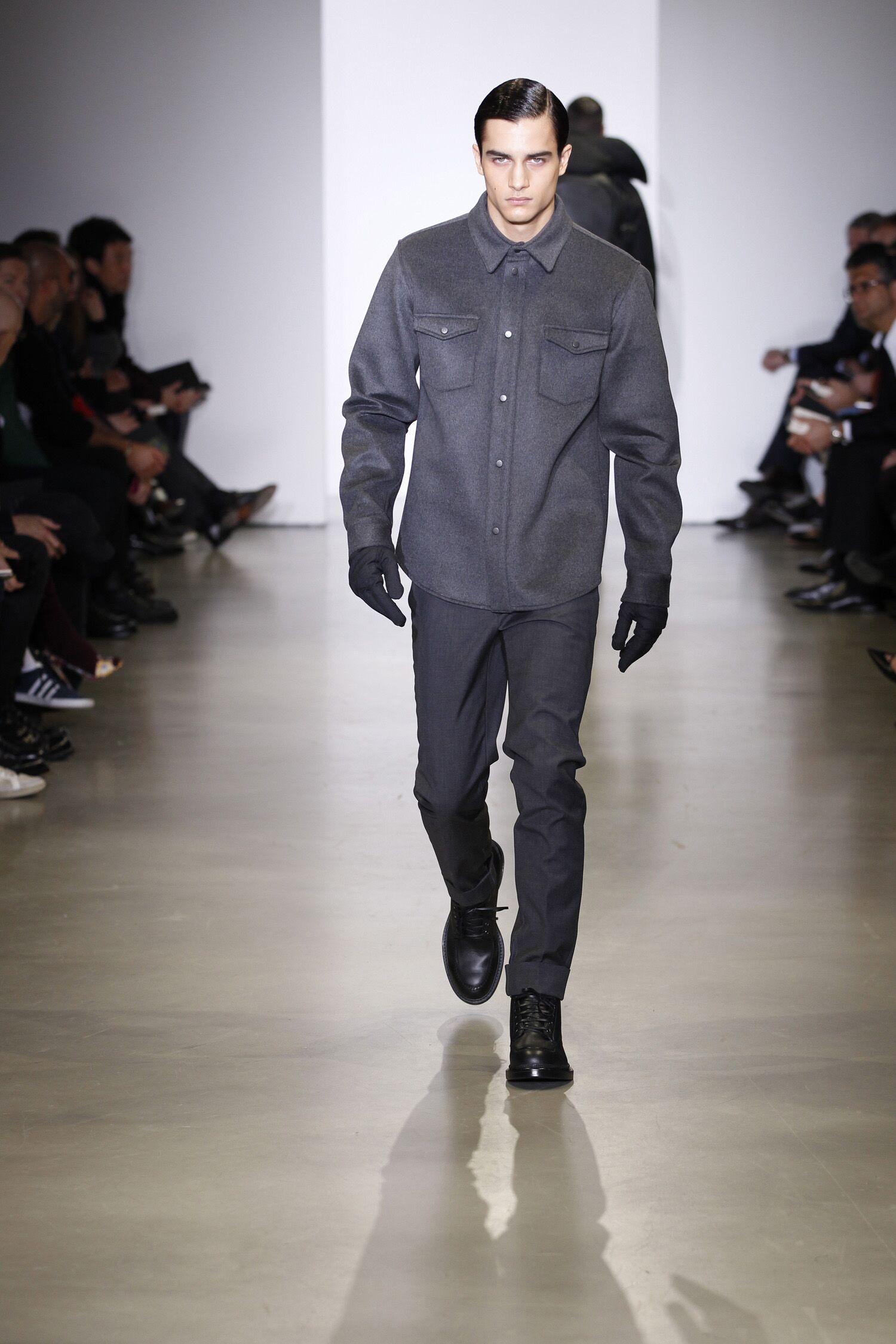 Calvin Klein Collection Fall Winter 2014 15 Mens Milano Fashion Week