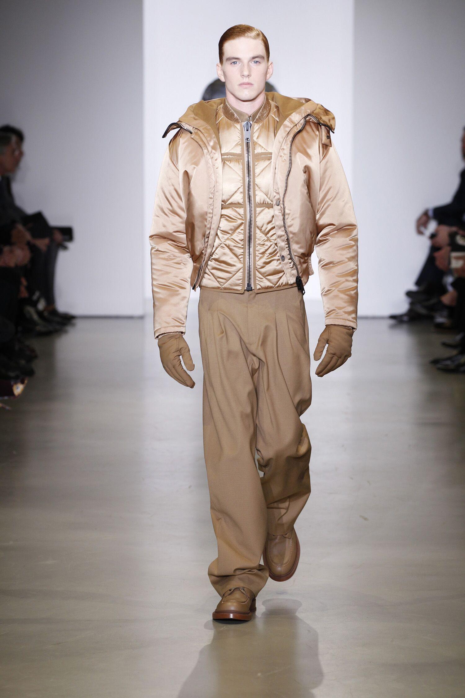 Calvin Klein Collection Man 2014