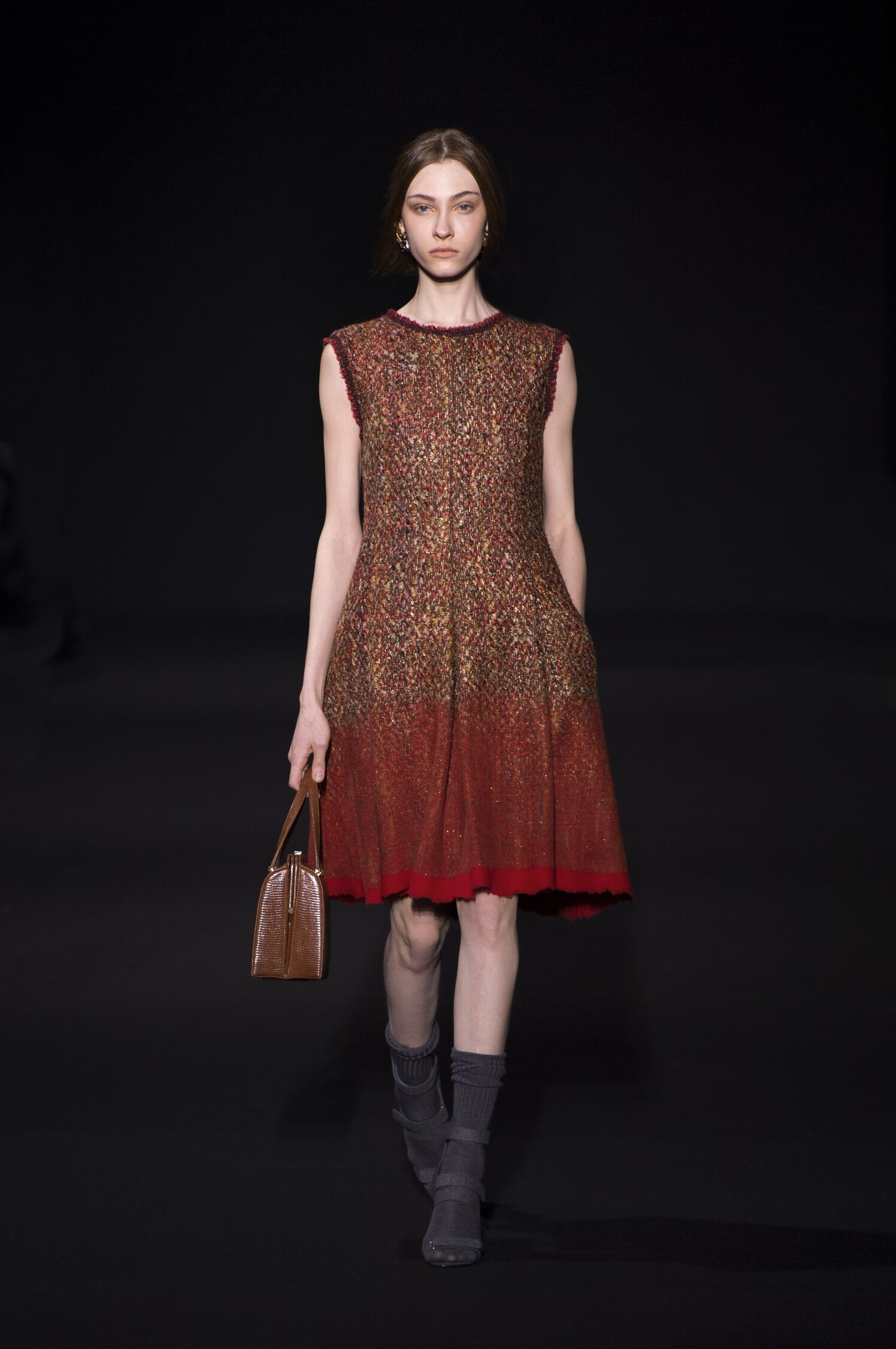 Catwalk Alberta Ferretti Fall Winter 2014 15 Women Collection Milano Fashion Week