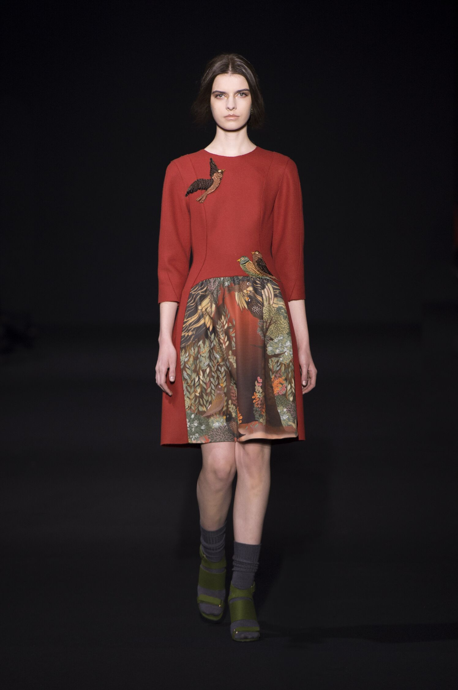 Catwalk Alberta Ferretti Fashion Show Winter 2014