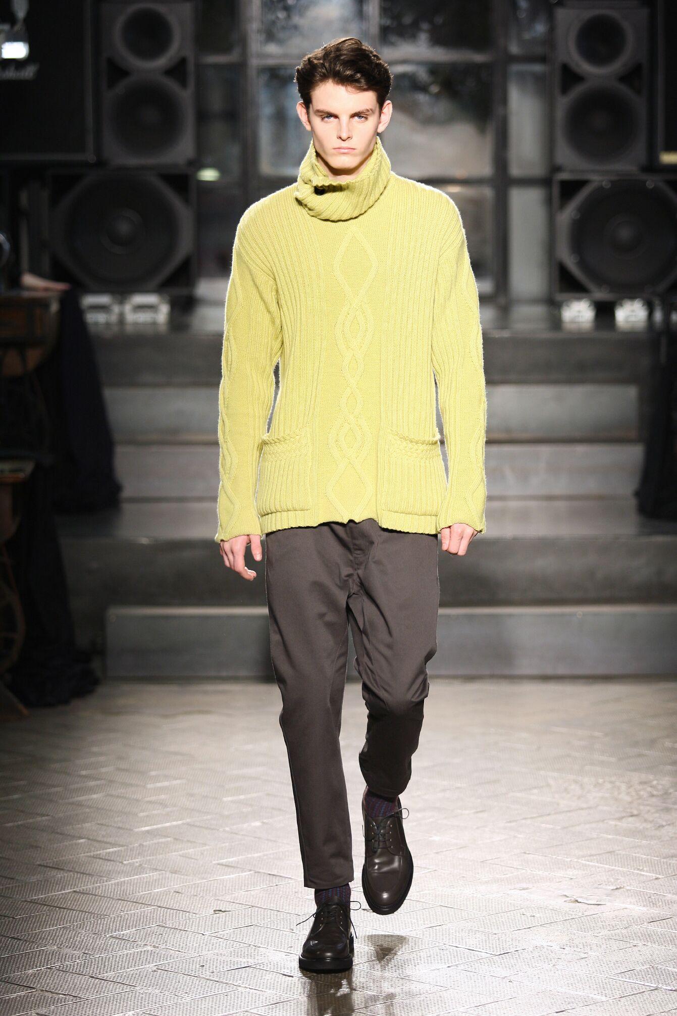 Catwalk Antonio Marras Fall Winter 2014 15 Men Collection Milano Fashion Week