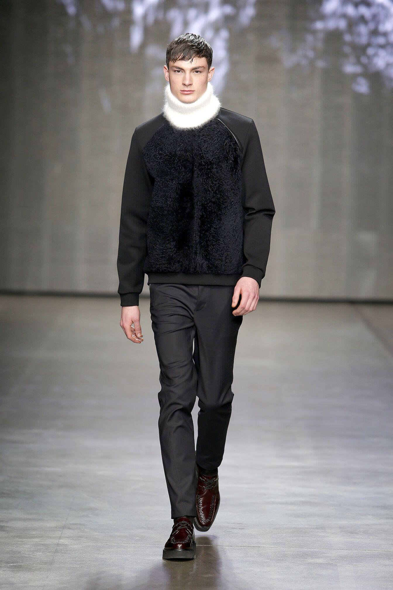 Catwalk Iceberg Fall Winter 2014 15 Men Collection Milano Fashion Week