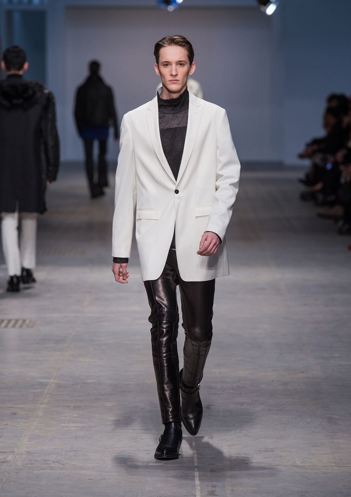 Costume National Homme Fall 2014 Catwalk