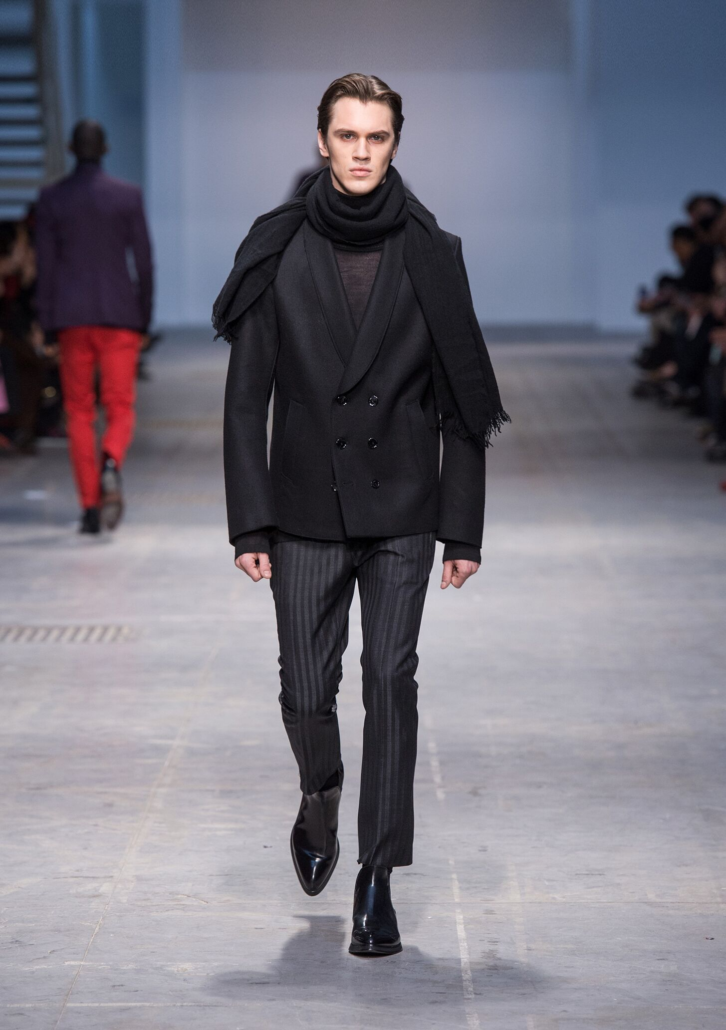 Costume National Homme Fall Winter 2014 15 Men Collection Milan Fashion Week Fashion Show