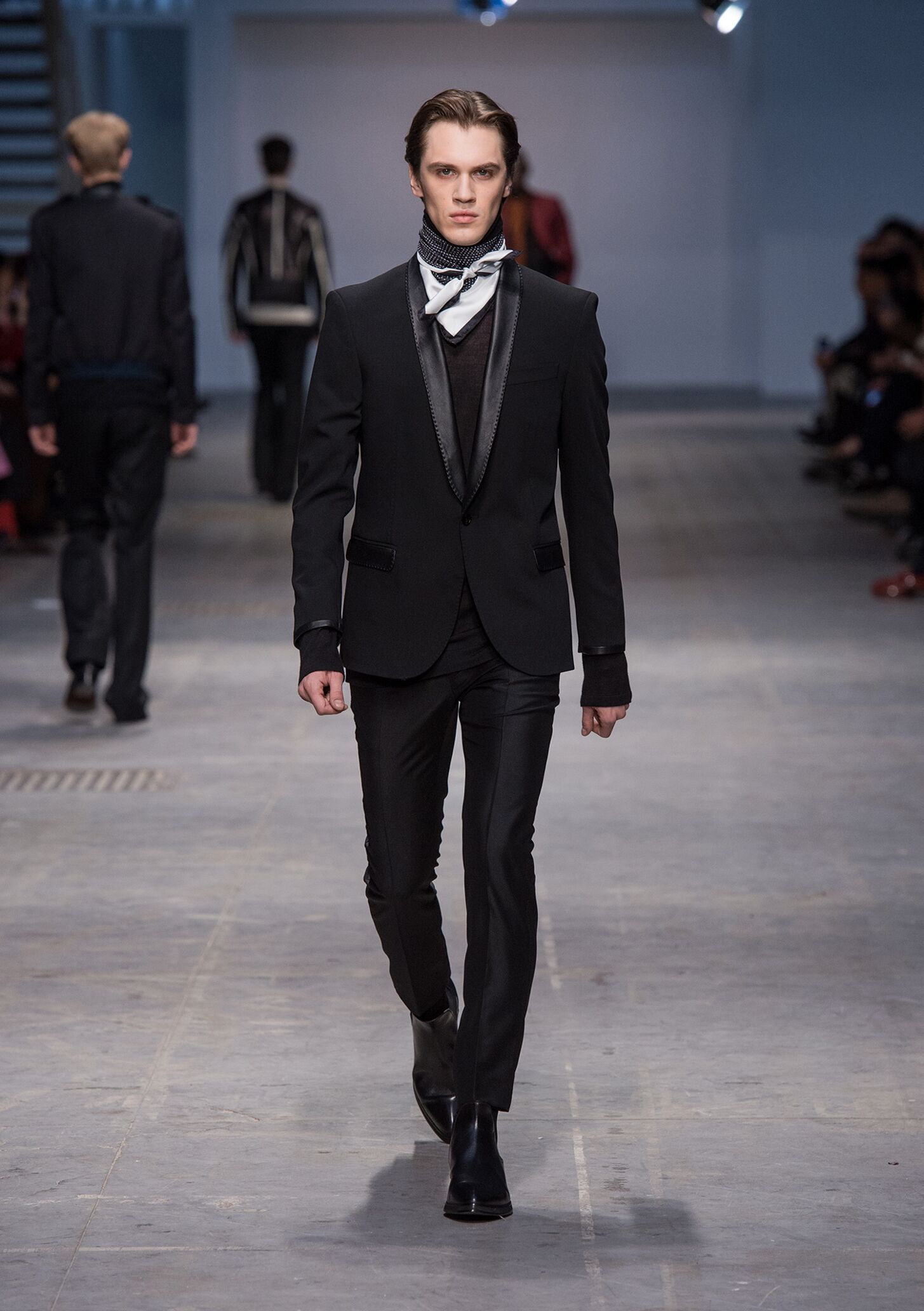 Costume National Homme Winter 2014 Catwalk