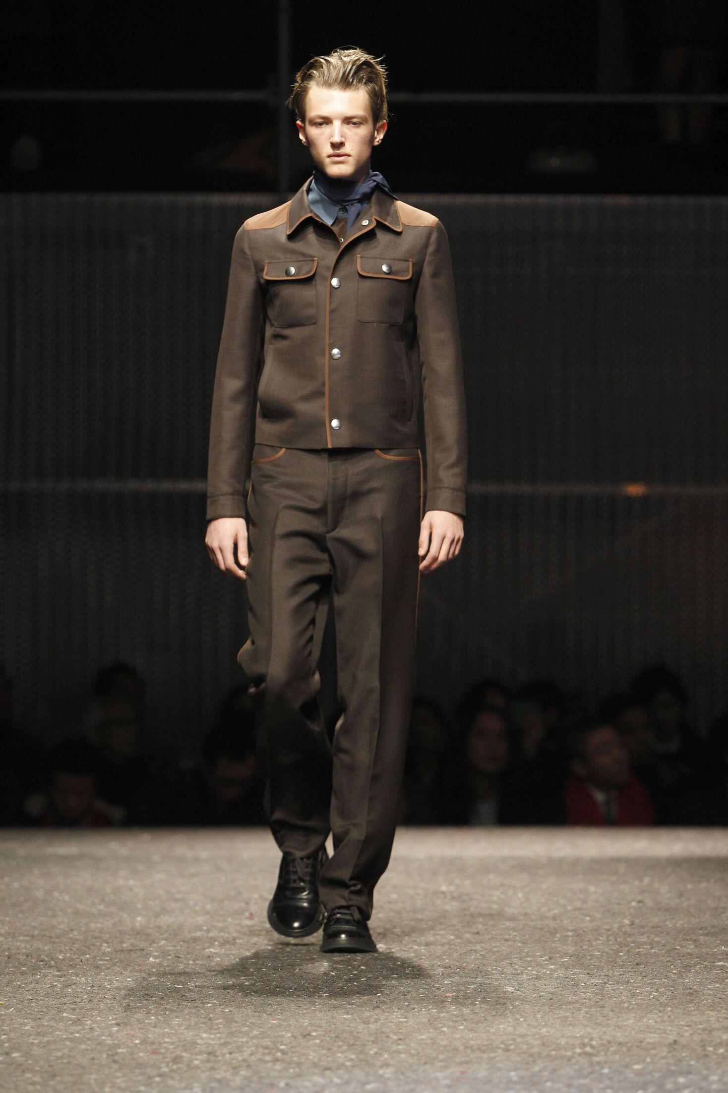 Fall Winter 2014 15 Fashion Men's Collection Prada