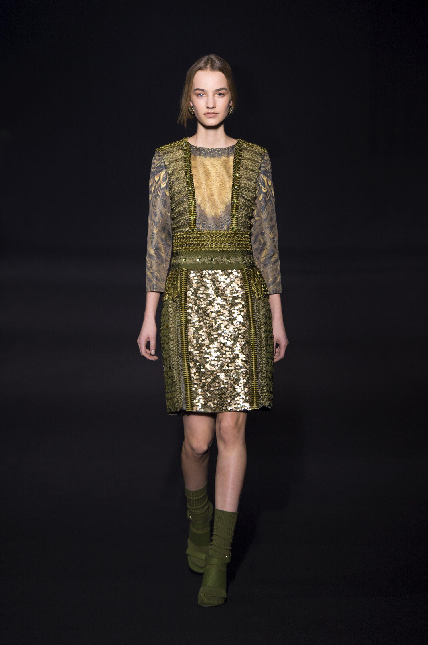 Fall Winter 2014 15 Fashion Women's Collection Alberta Ferretti