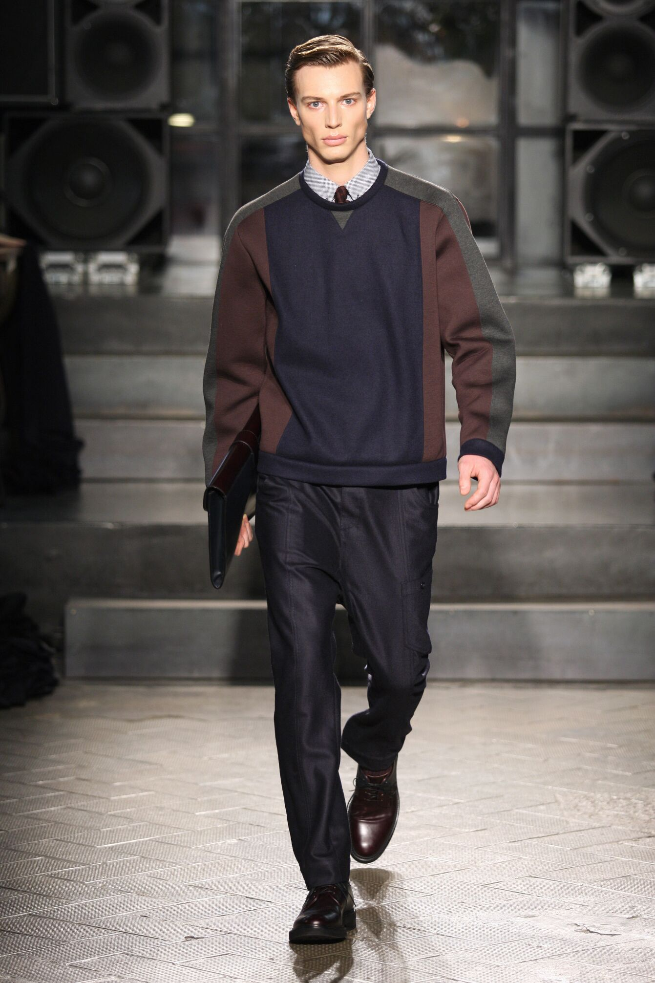 Fashion Man Model Antonio Marras Catwalk