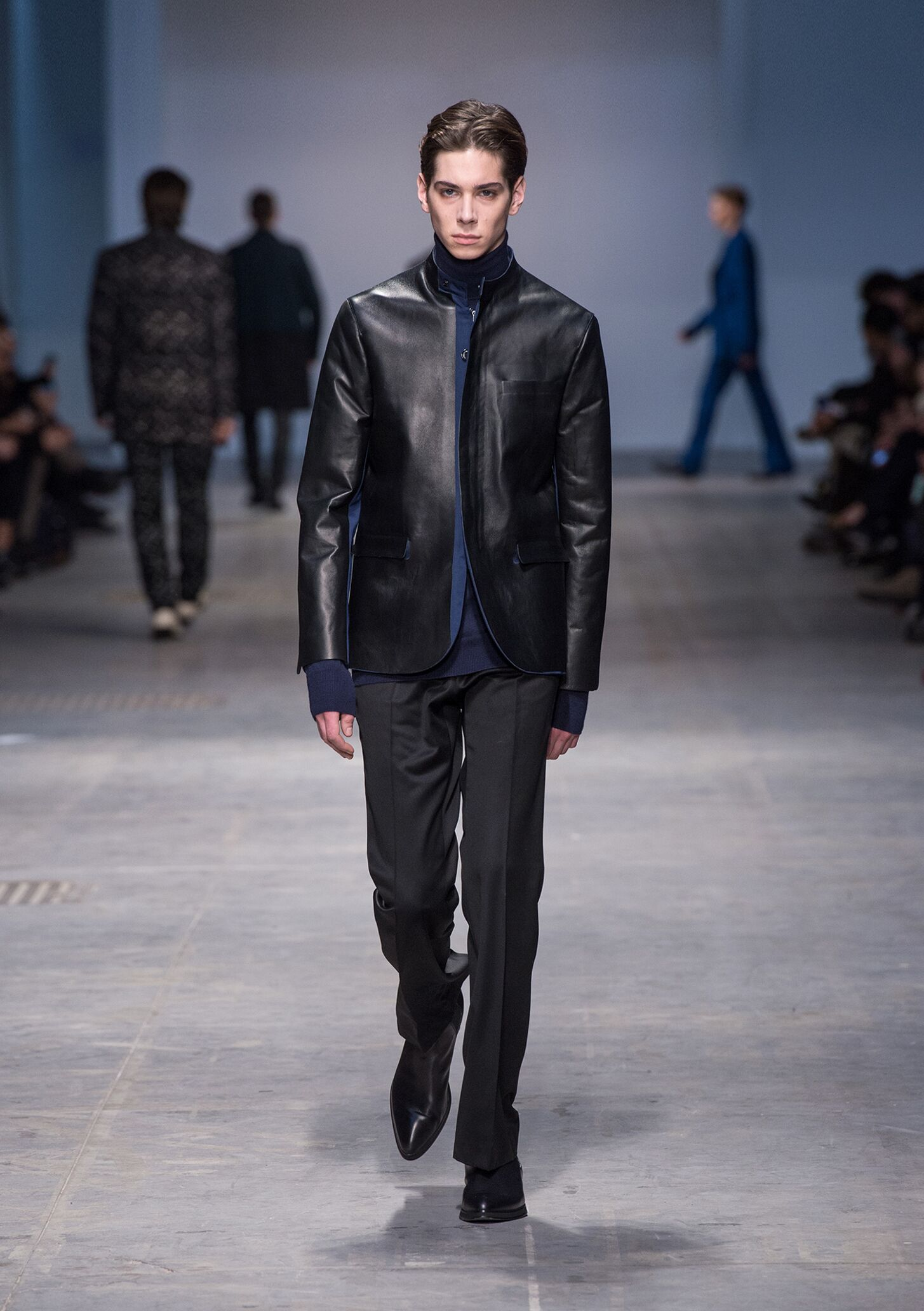 Fashion Man Model Costume National Homme Catwalk