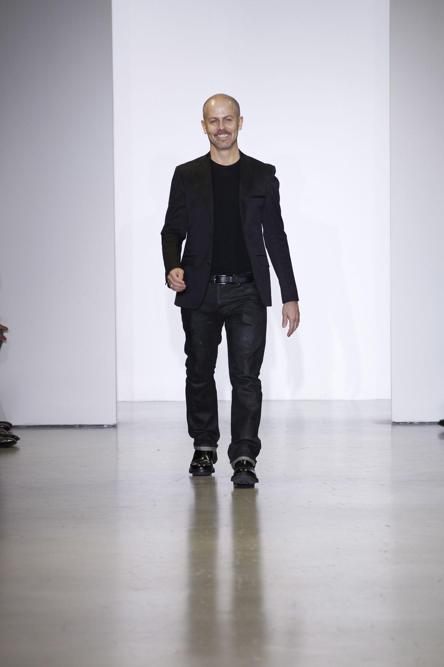 Italo Zucchelli Men's Creative Director Calvin Klein Collection 2014-2015