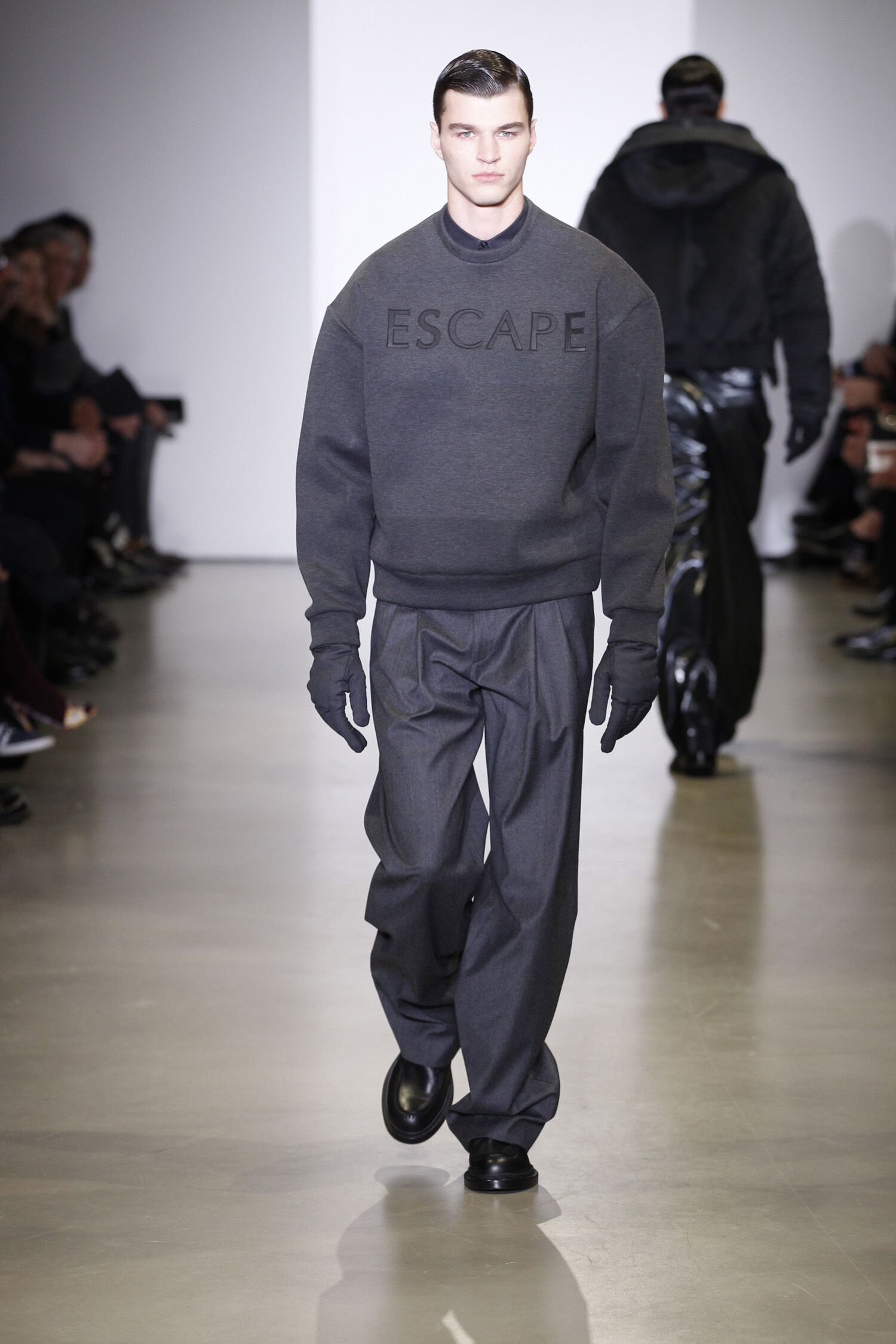 Man Winter 2014 Fashion Trends Calvin Klein Collection