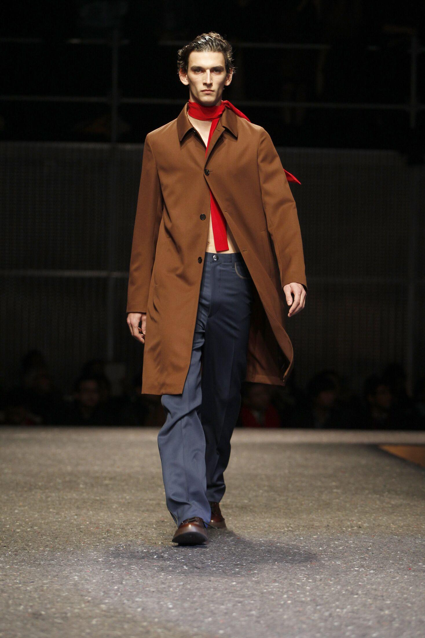 Prada Man Milano Fashion Week
