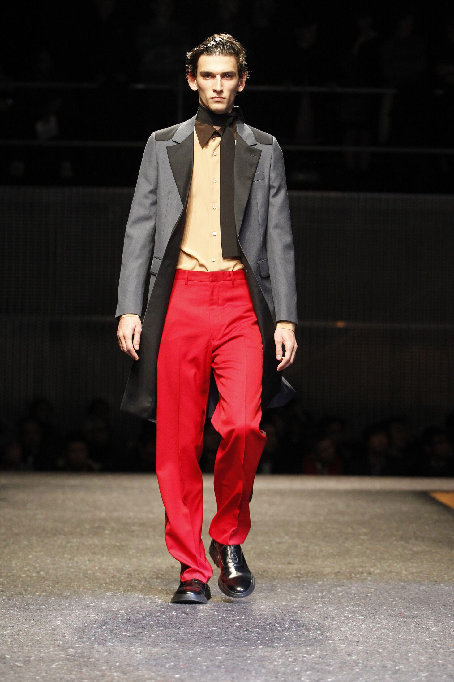 Prada Men's Collection 2014 2015