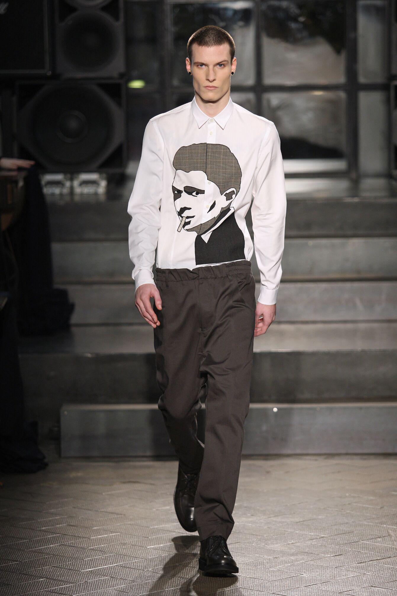 Runway Antonio Marras Fall Winter 2014 15 Men Collection Milano Fashion Week