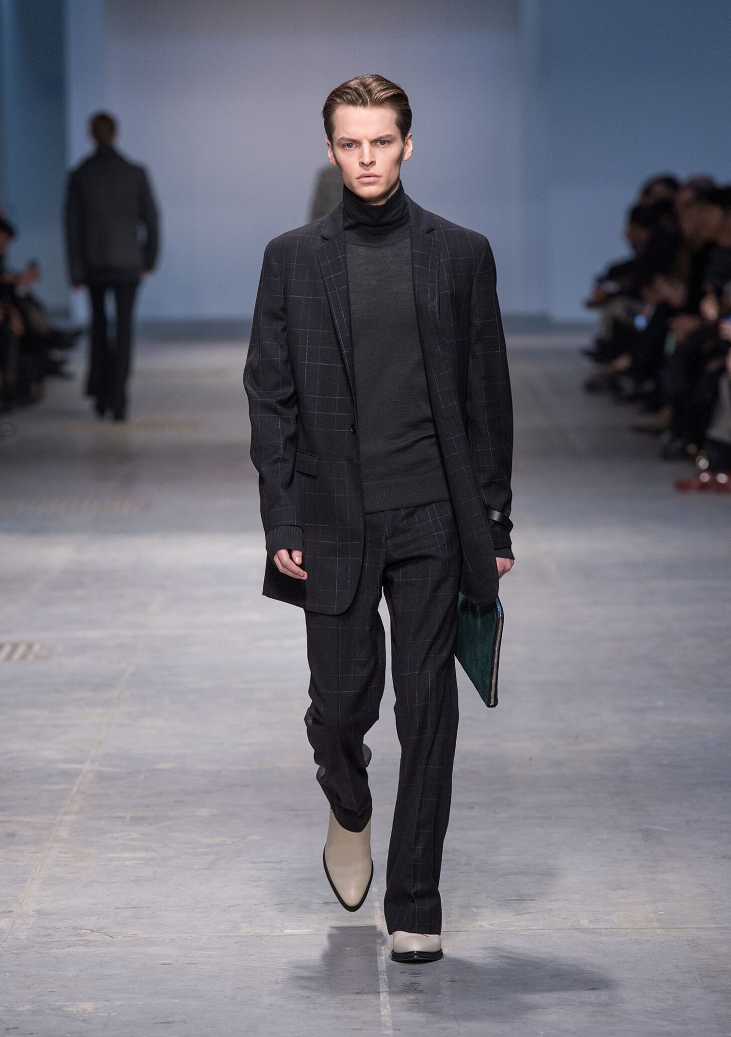 Runway Costume National Homme Fall Winter 2014 15 Men Collection Milan Fashion Week