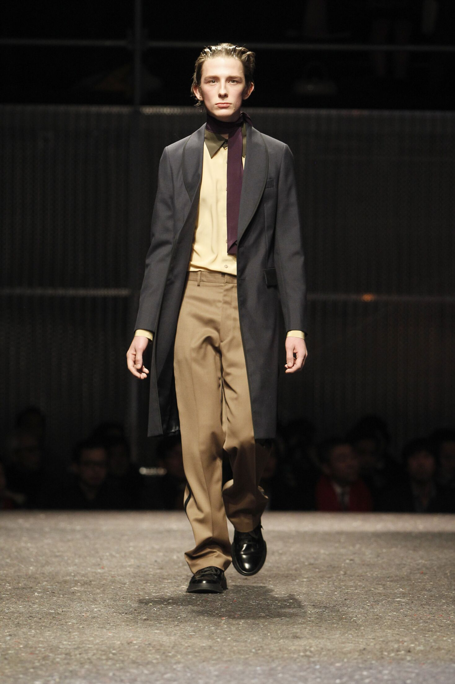 Runway Prada Fall Winter 2014 15 Men Collection Milan Fashion Week