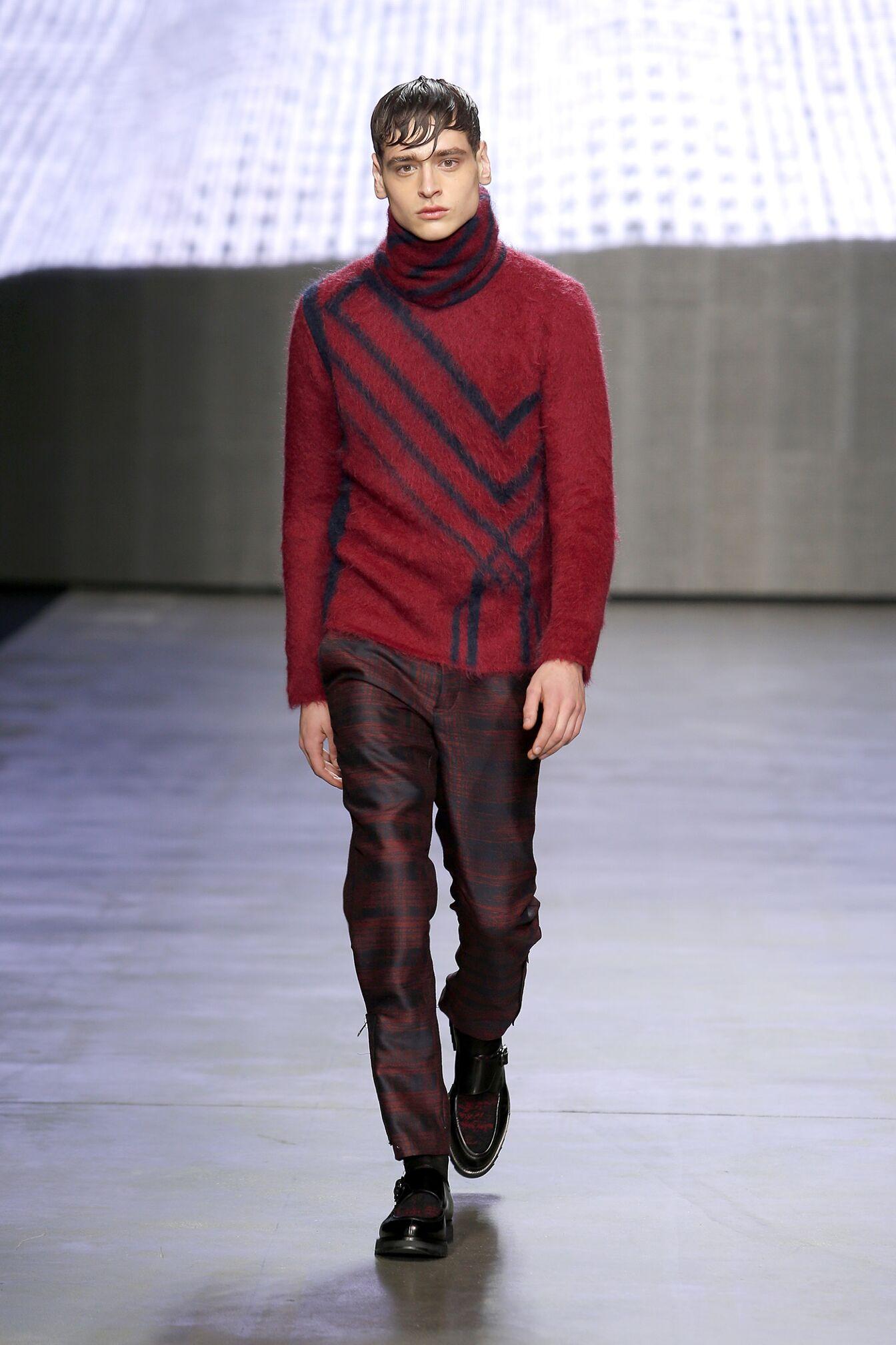 Winter 2014 Trends Color Iceberg Menswear