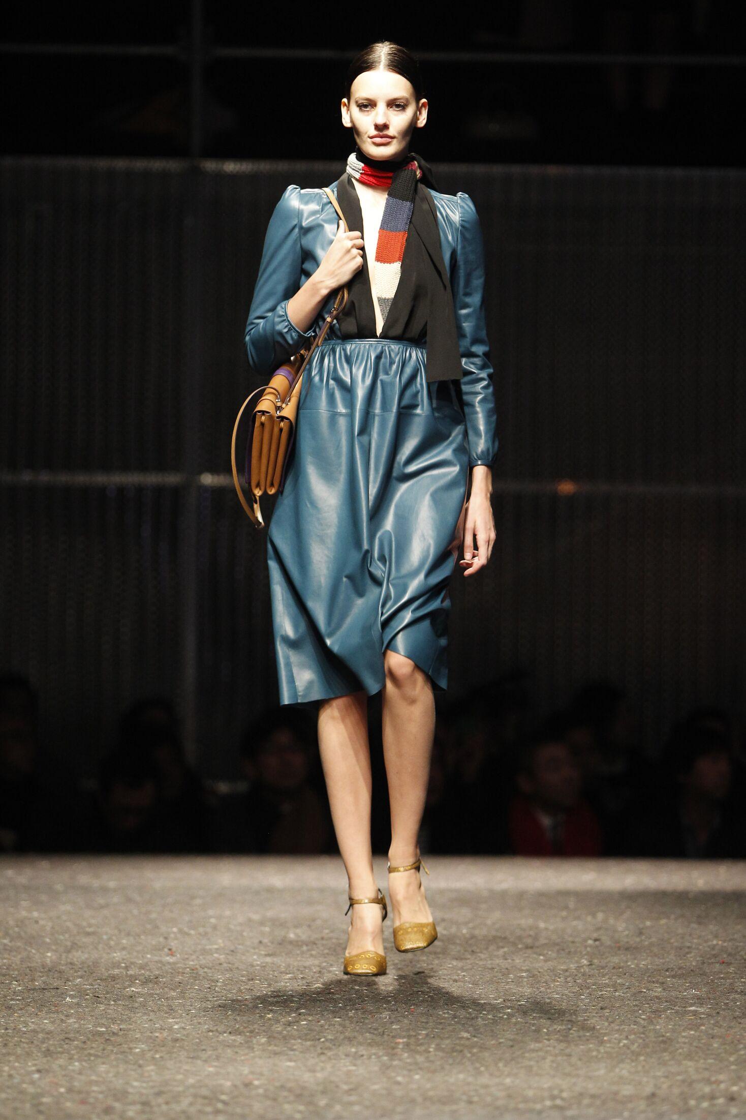 Woman 2014 Fashion Show Prada