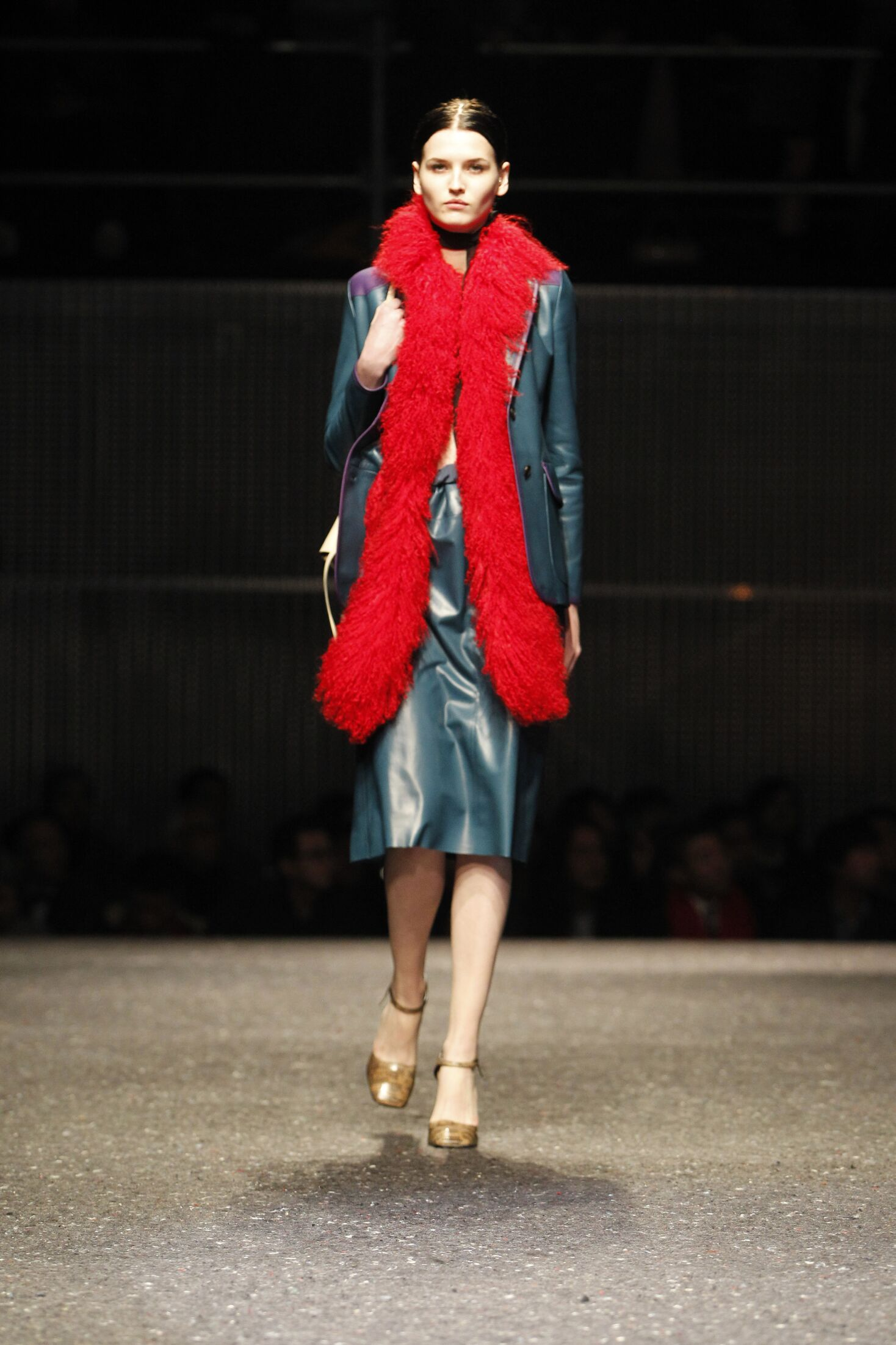 Woman Winter 2014 Fashion Trends Prada