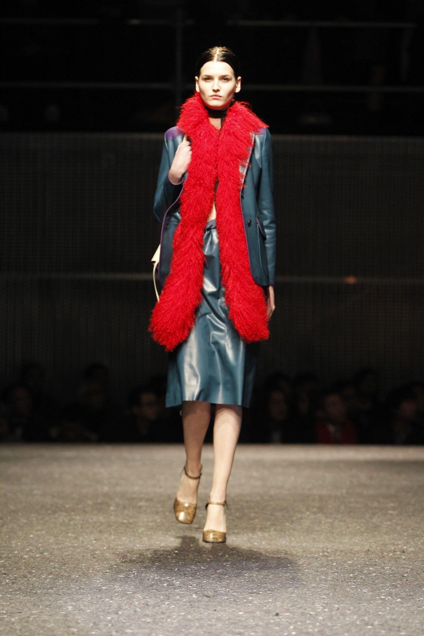 Woman Winter 2014 Fashion Trends Prada