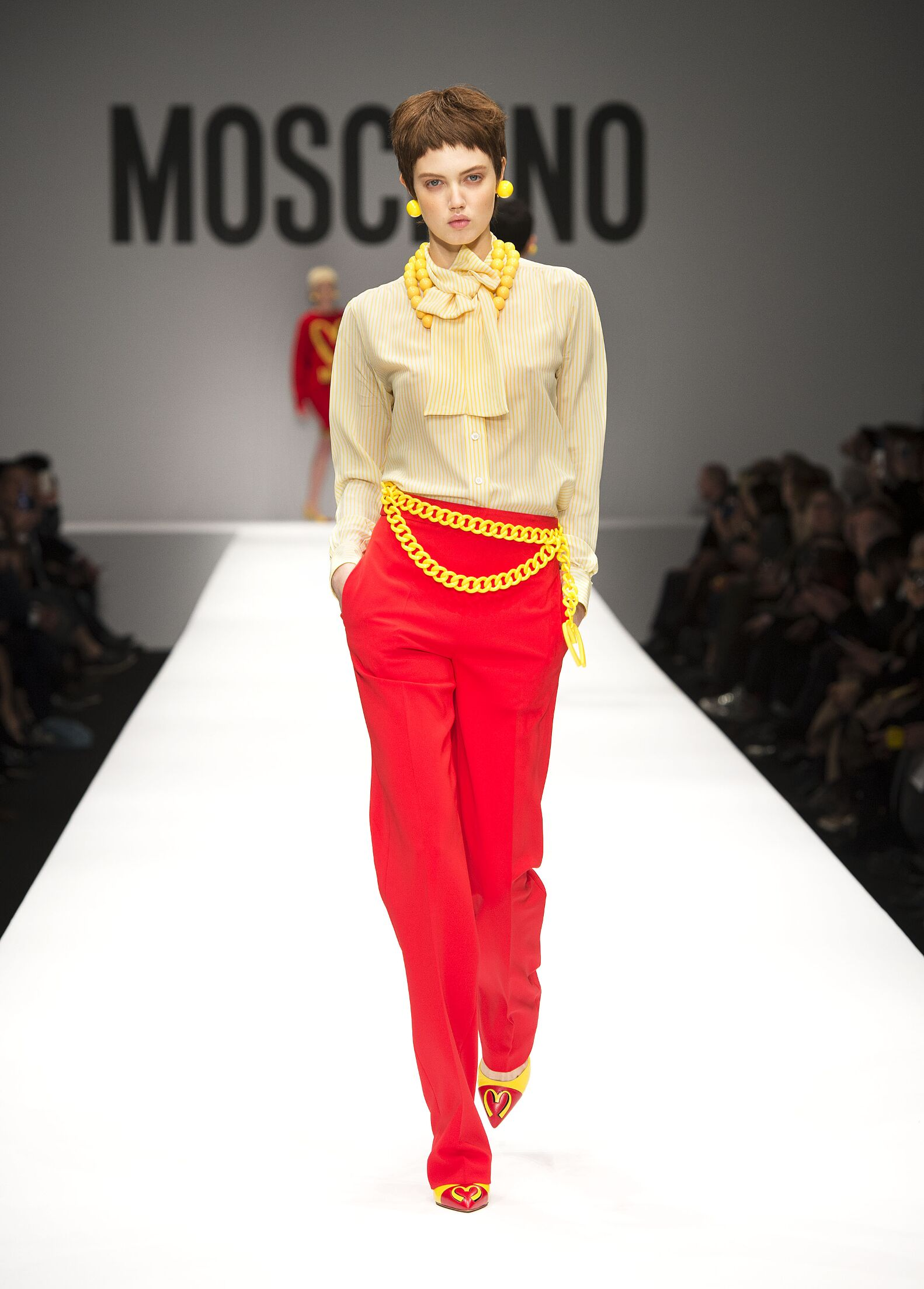 2014 2015 Winter Fashion Trends Moschino