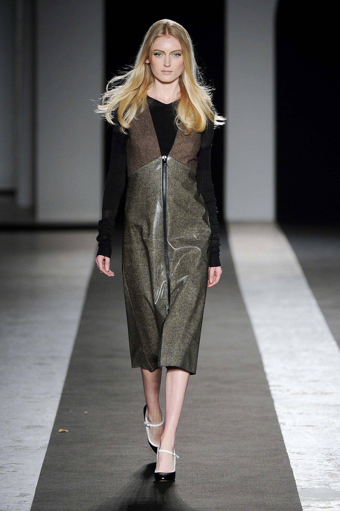 Andrea Incontri Fall Winter 2014 15 Women Collection Milan Fashion Week Fashion Show