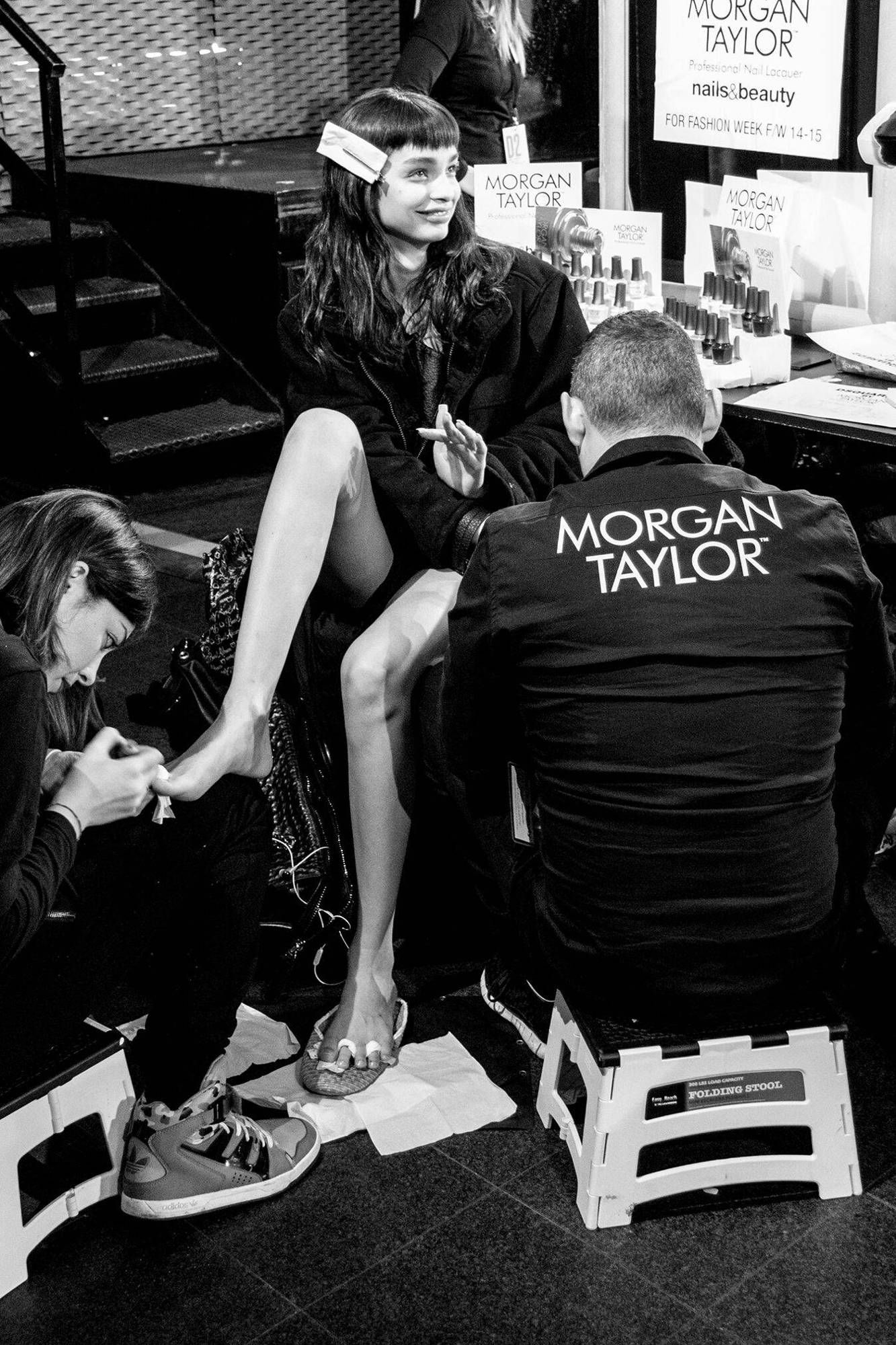 Backstage Dsquared2 2014 Woman