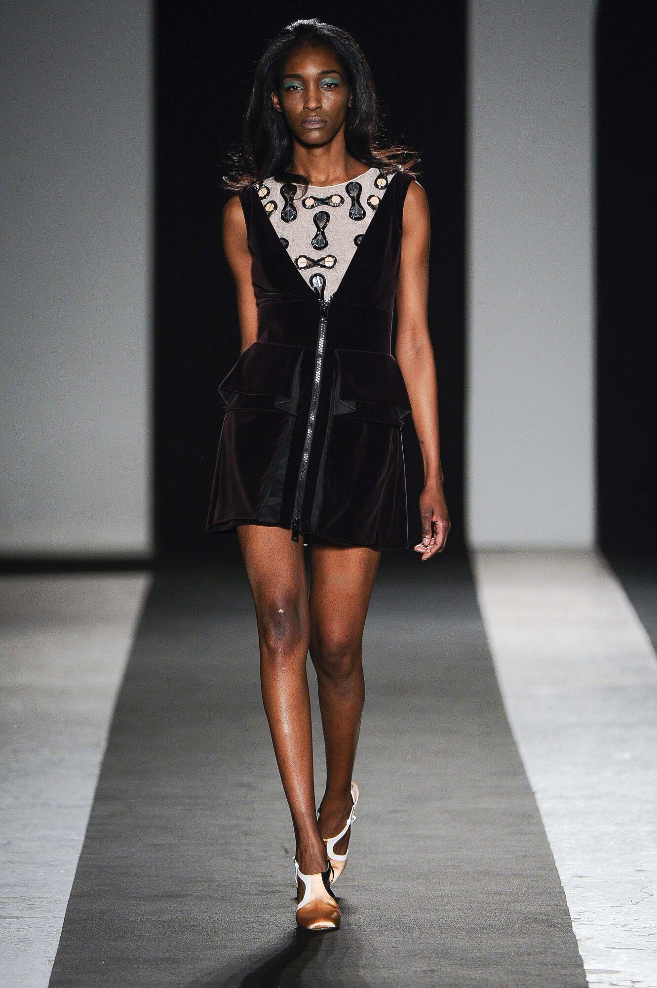 Catwalk Andrea Incontri Fashion Show Winter 2014