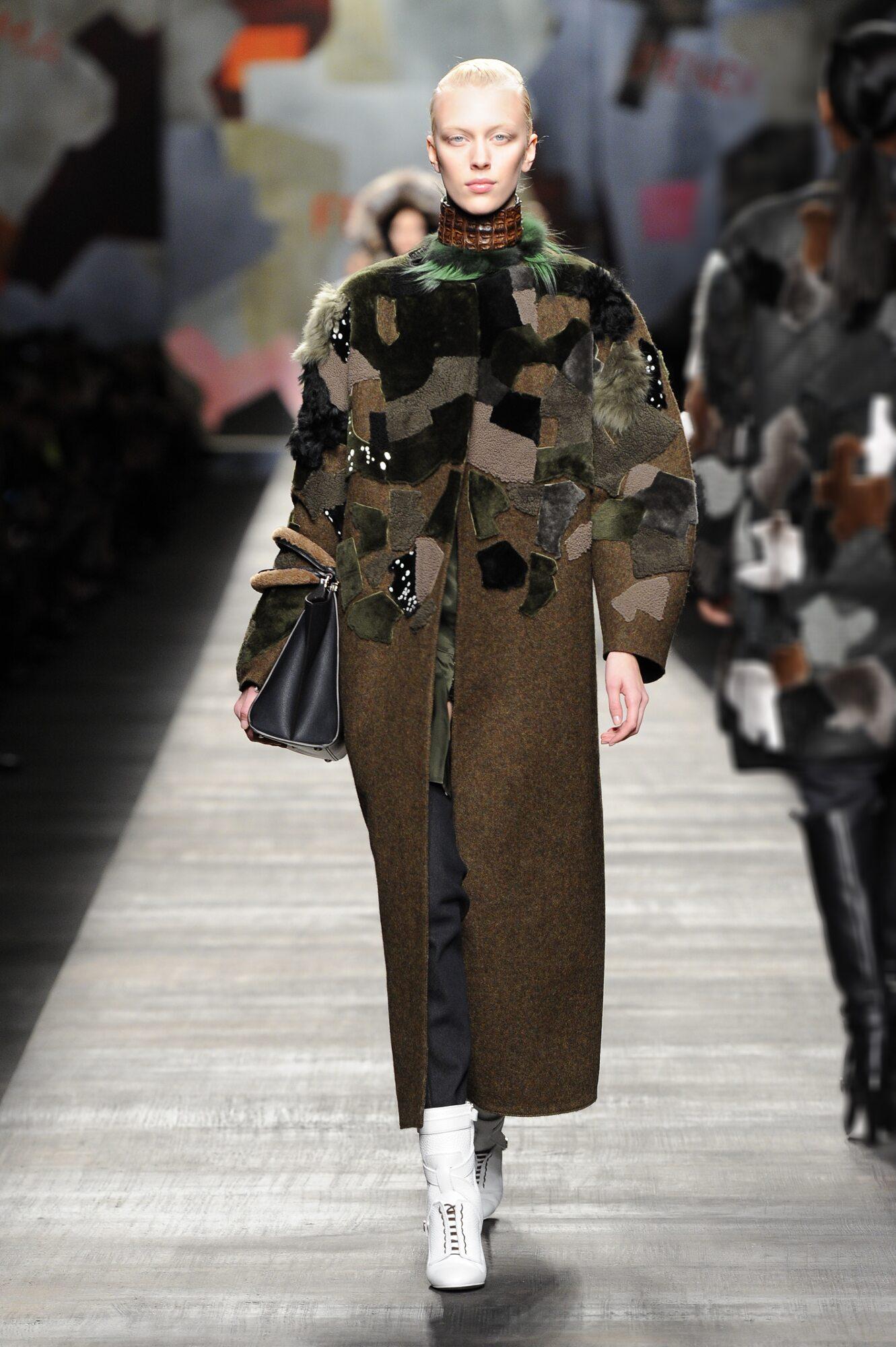Catwalk Fendi Fall Winter 2014 15 Women Collection Milano Fashion Week