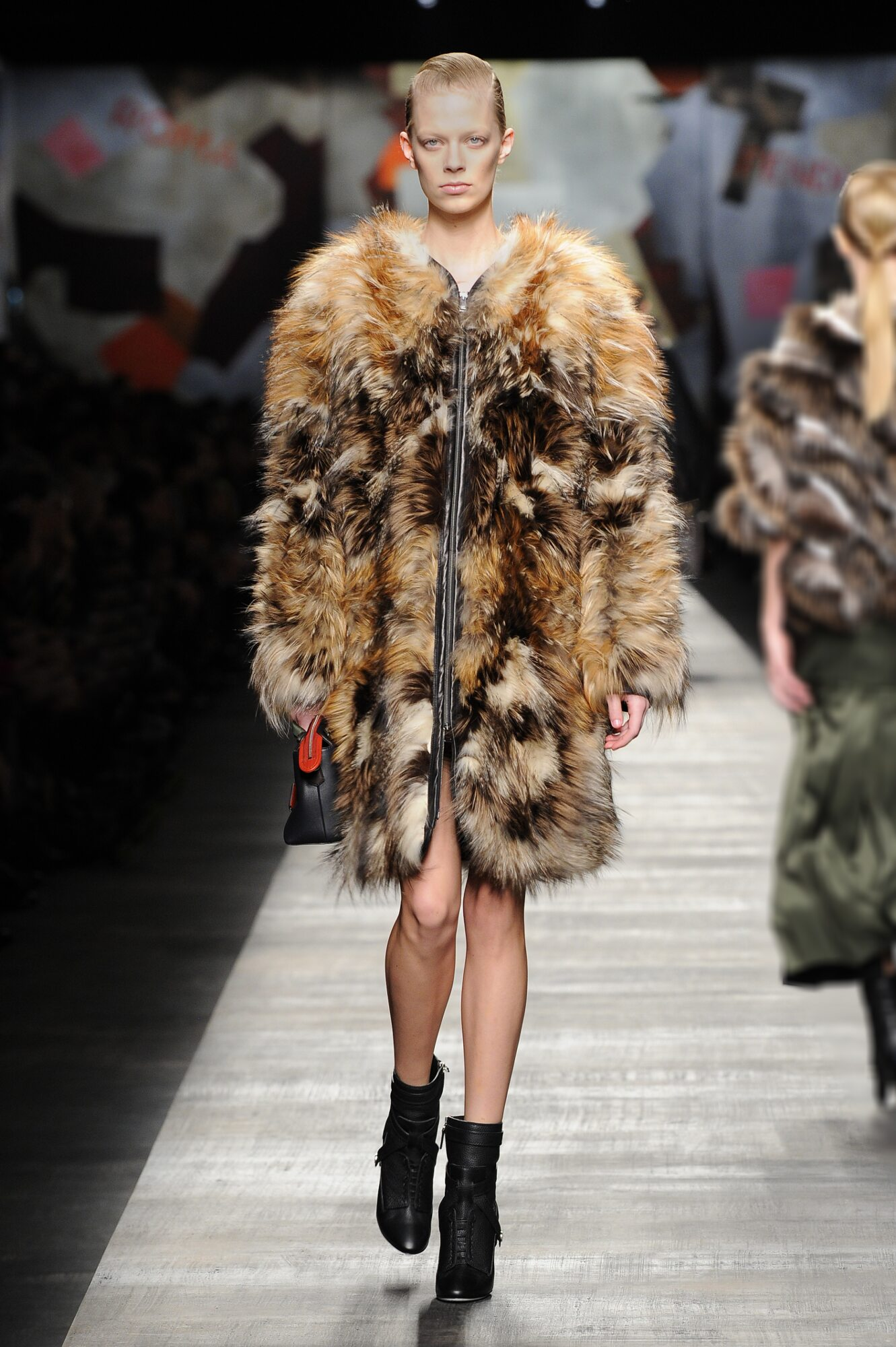 Catwalk Fendi Fashion Show Winter 2014