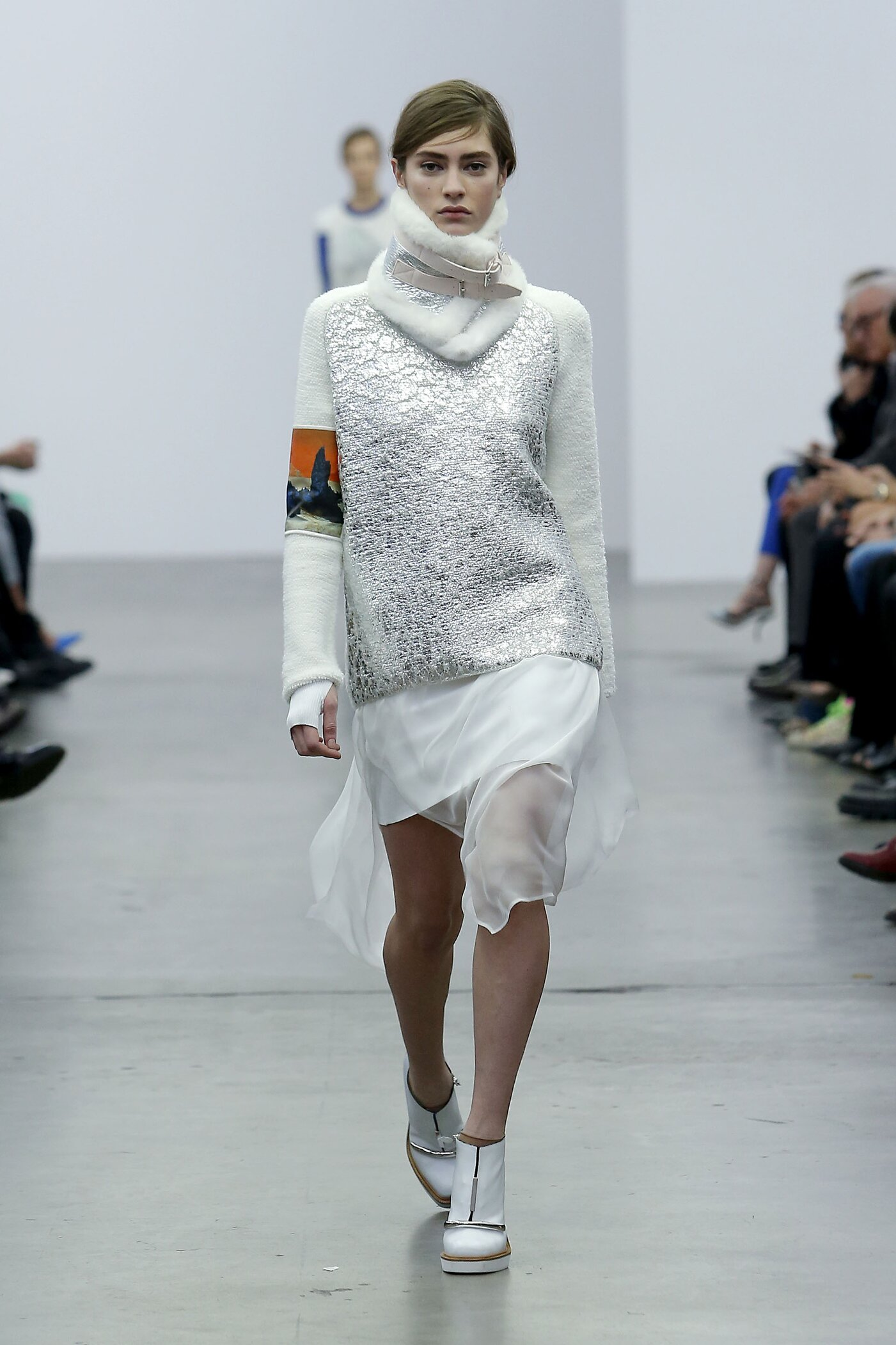 Catwalk Iceberg Fall Winter 2014 15 Women Collection Milano Fashion Week