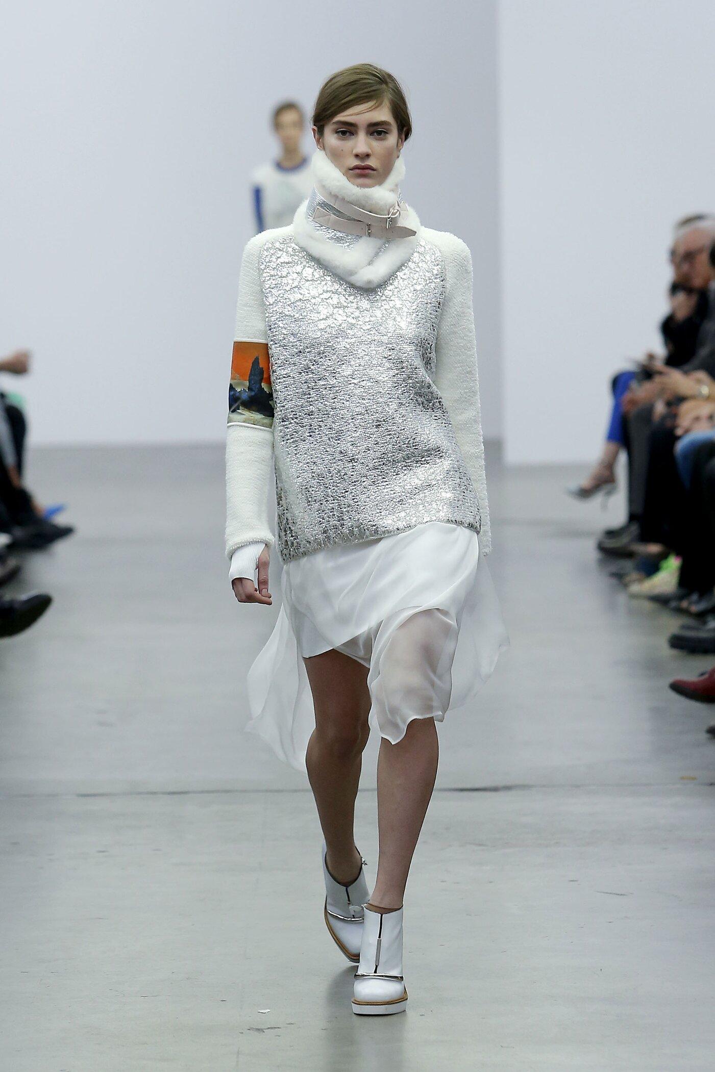 Catwalk Iceberg Fall Winter 2014 15 Women Collection Milano Fashion Week