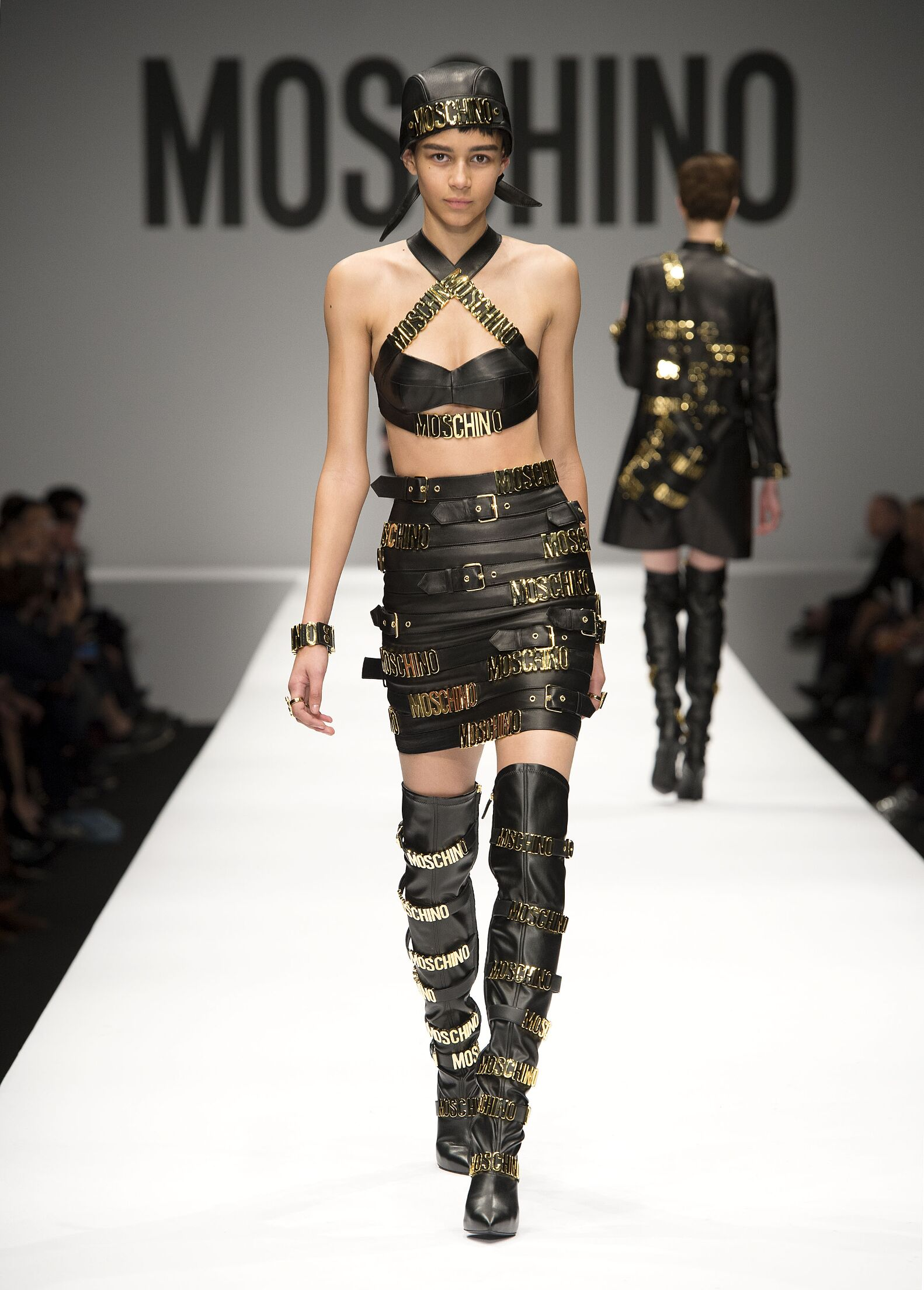 Catwalk Moschino Fashion Show Winter 2014