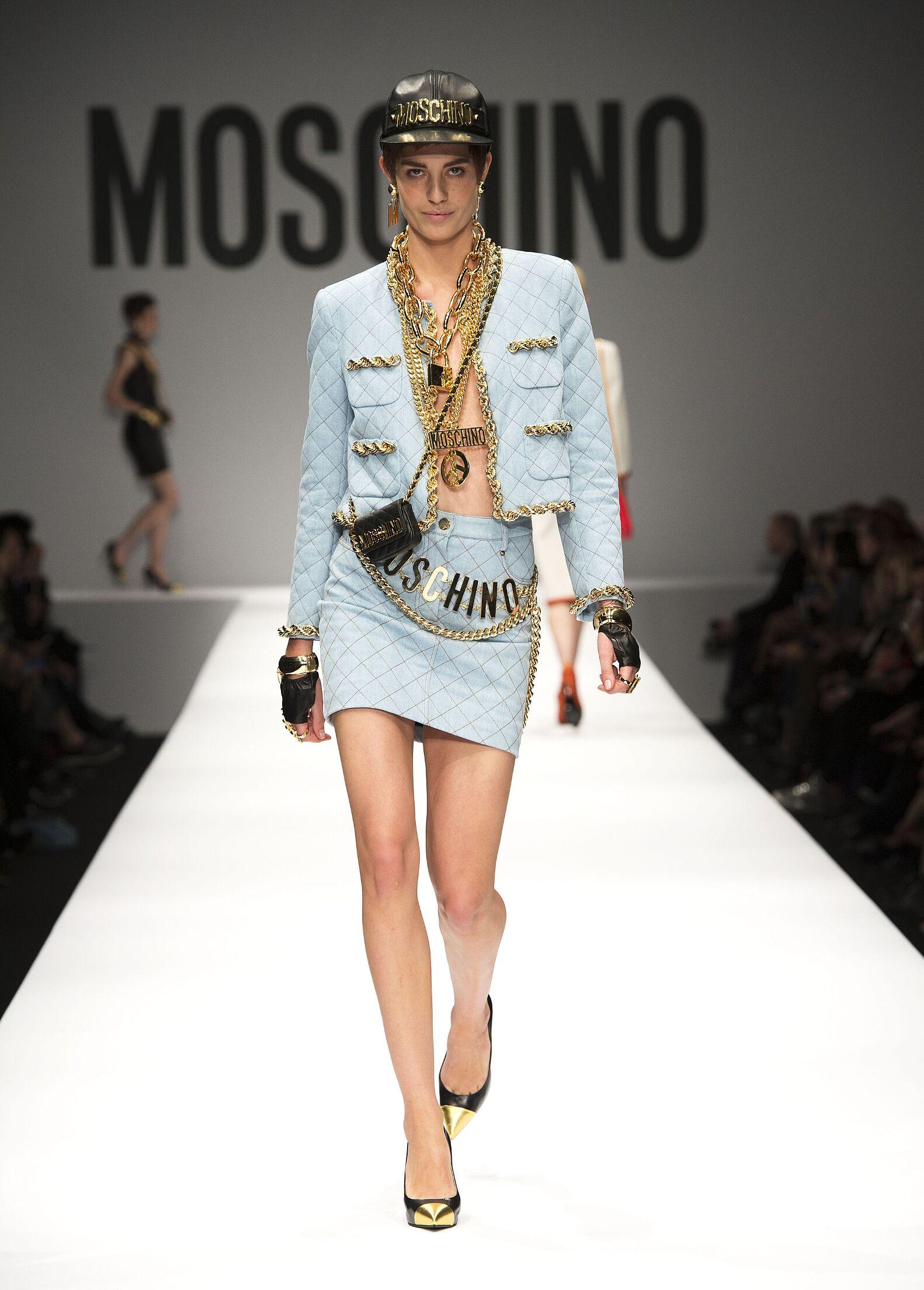 Fall 2014 Fashion Trends Moschino