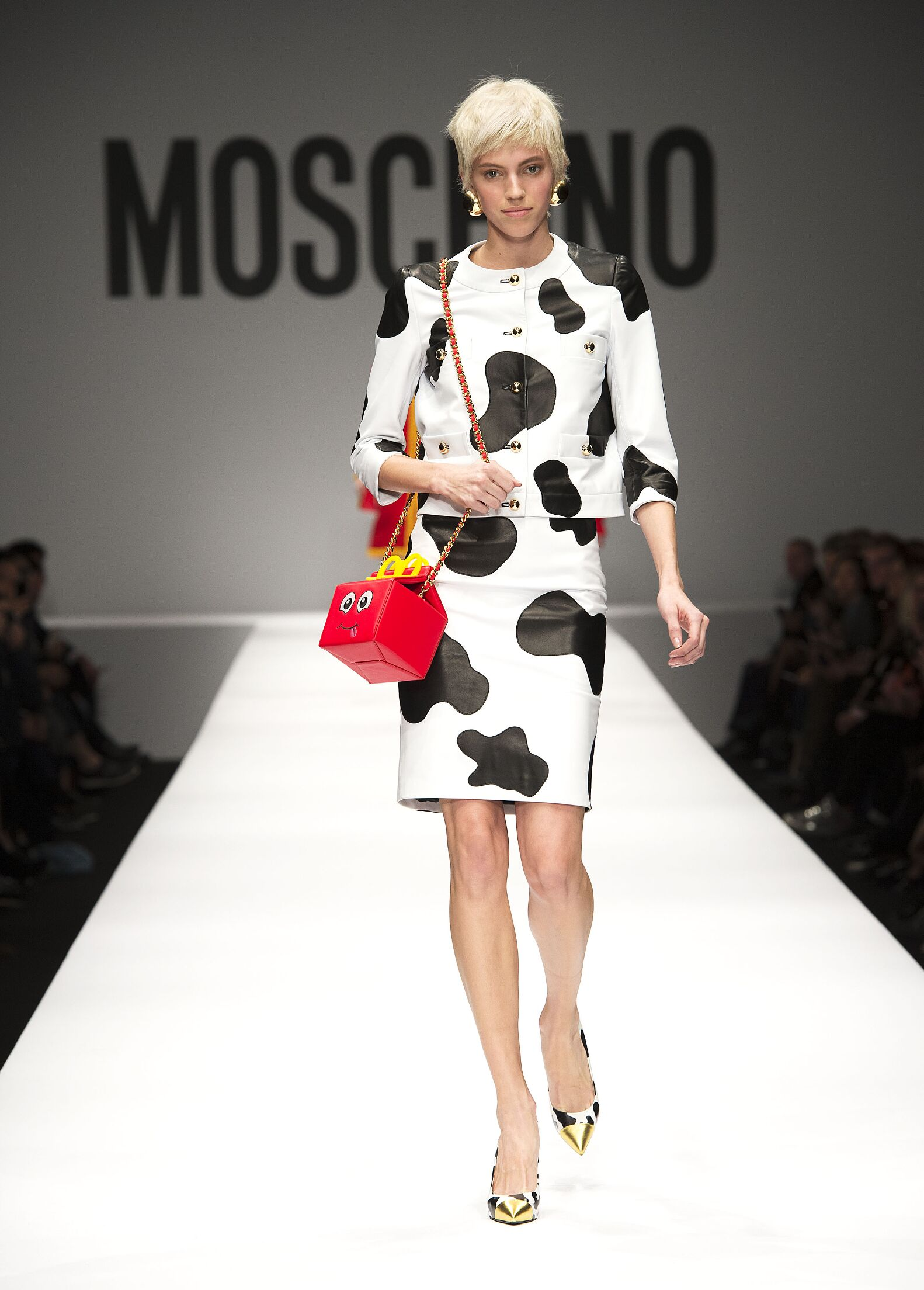 Fall Winter 2014 15 Fashion Women's Collection Moschino