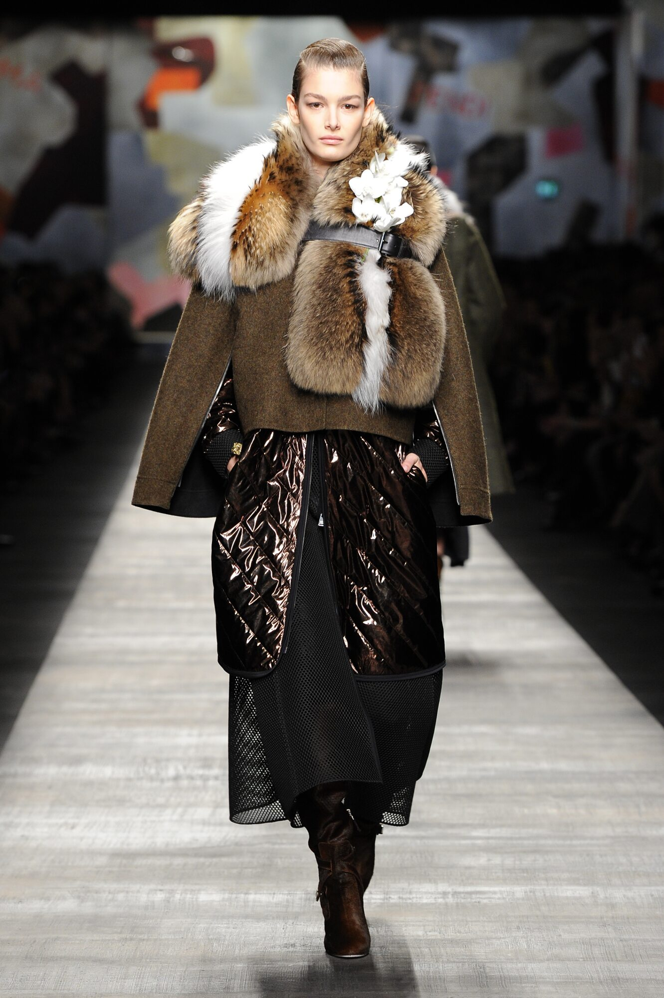Fendi Fall 2014 Catwalk