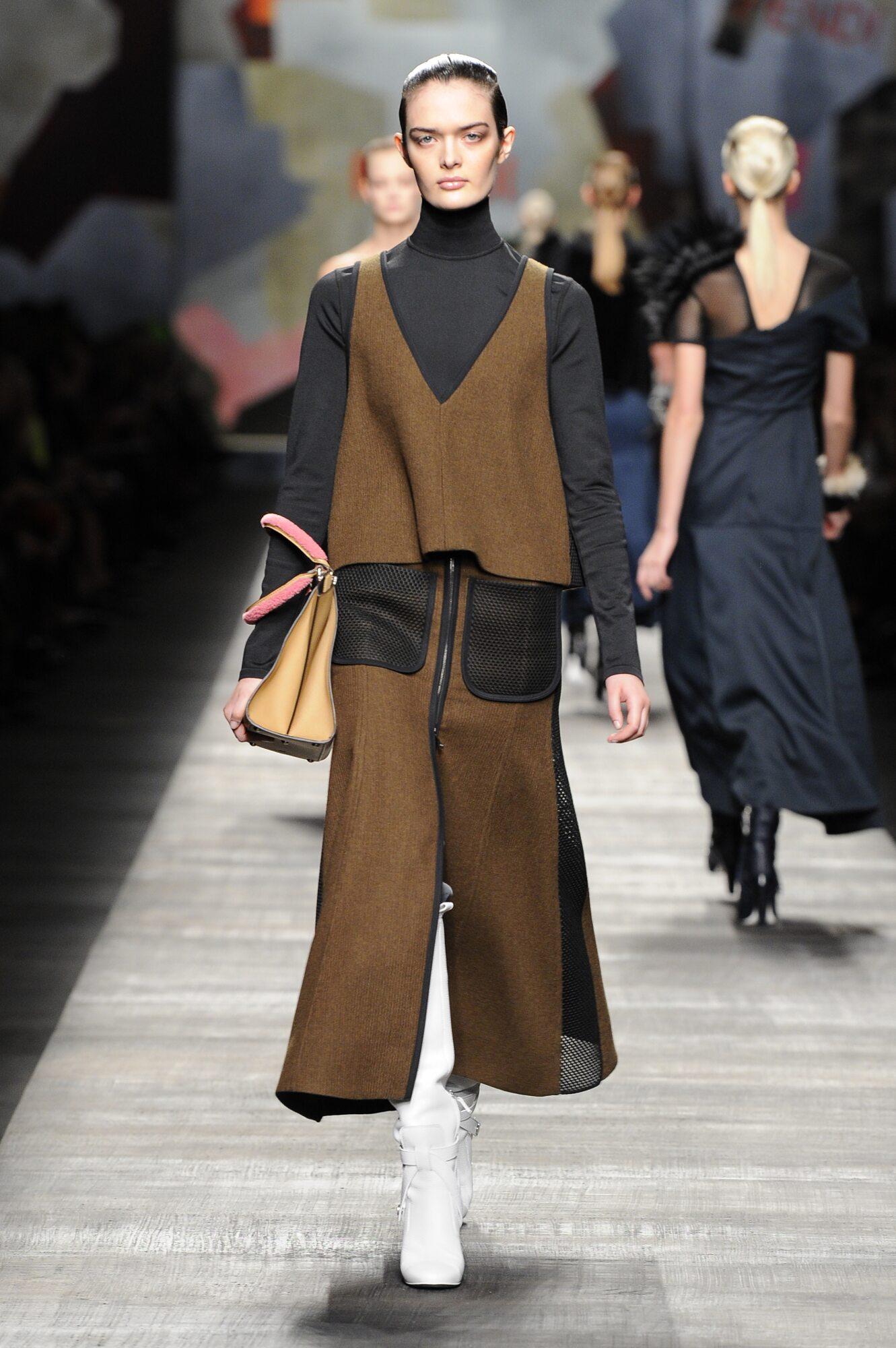 Fendi Fall Winter 2014 15 Women Collection Milan Fashion Week Fashion Show