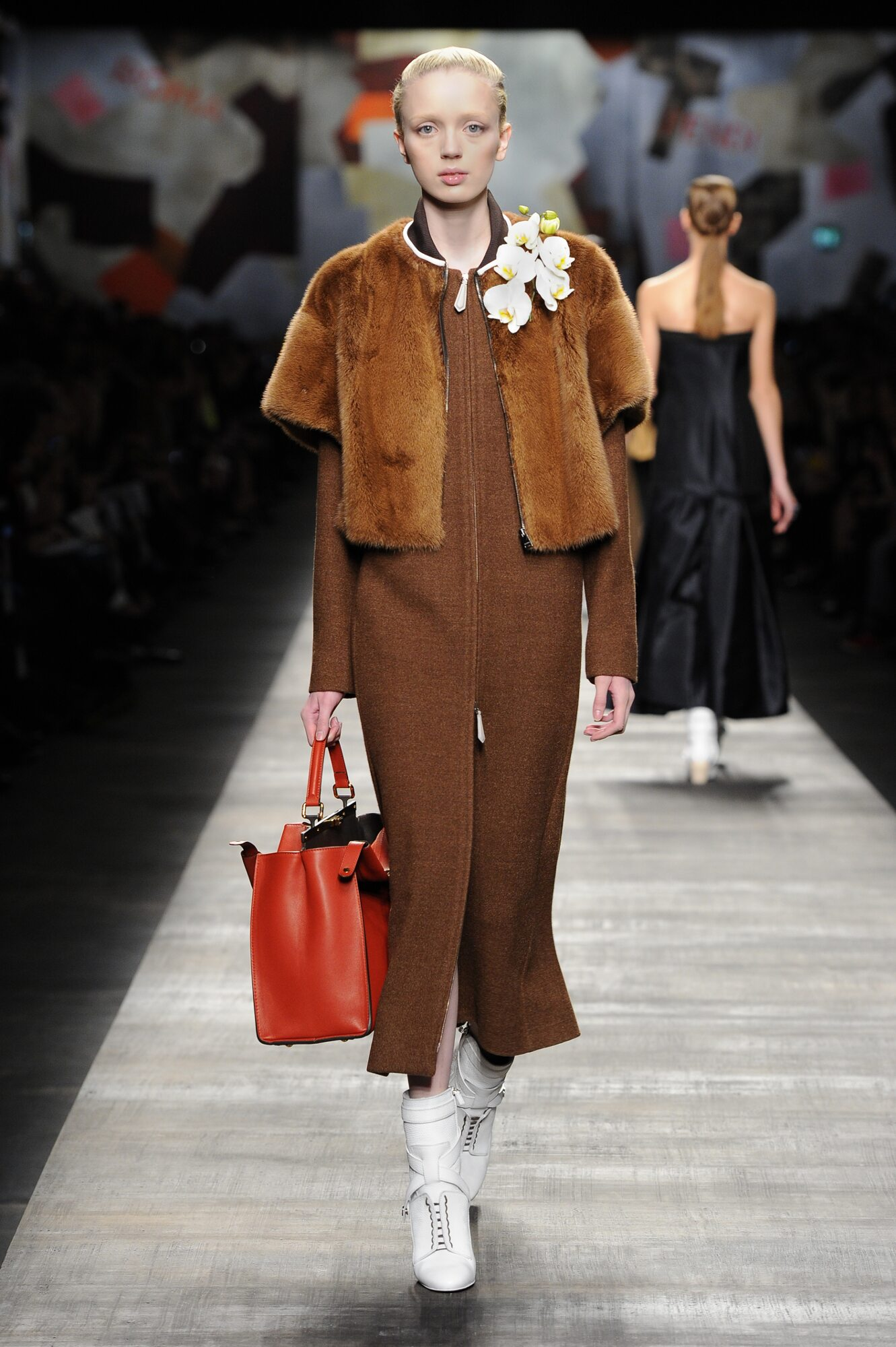 Fendi Fall Winter 2014 15 Womens Collection Milano Fashion Week