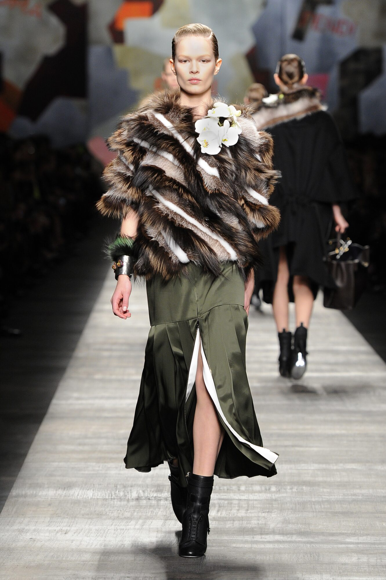 Fendi Winter 2014 Catwalk