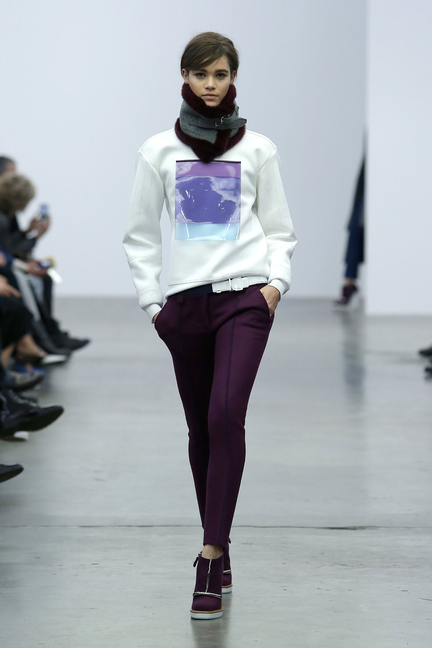 Iceberg Fall Winter 2014 15 Women Collection Milan Fashion Week Fashion Show