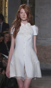 MILA SCHÖN SPRING SUMMER 2014 WOMEN'S COLLECTION – MILANO FASHION WEEK