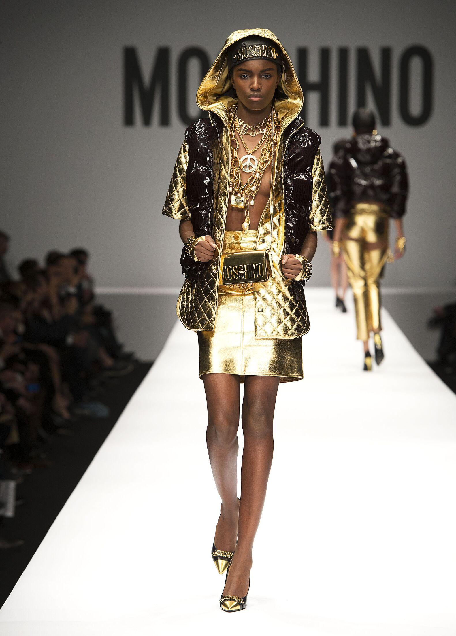 Moschino Fall 2014 Catwalk
