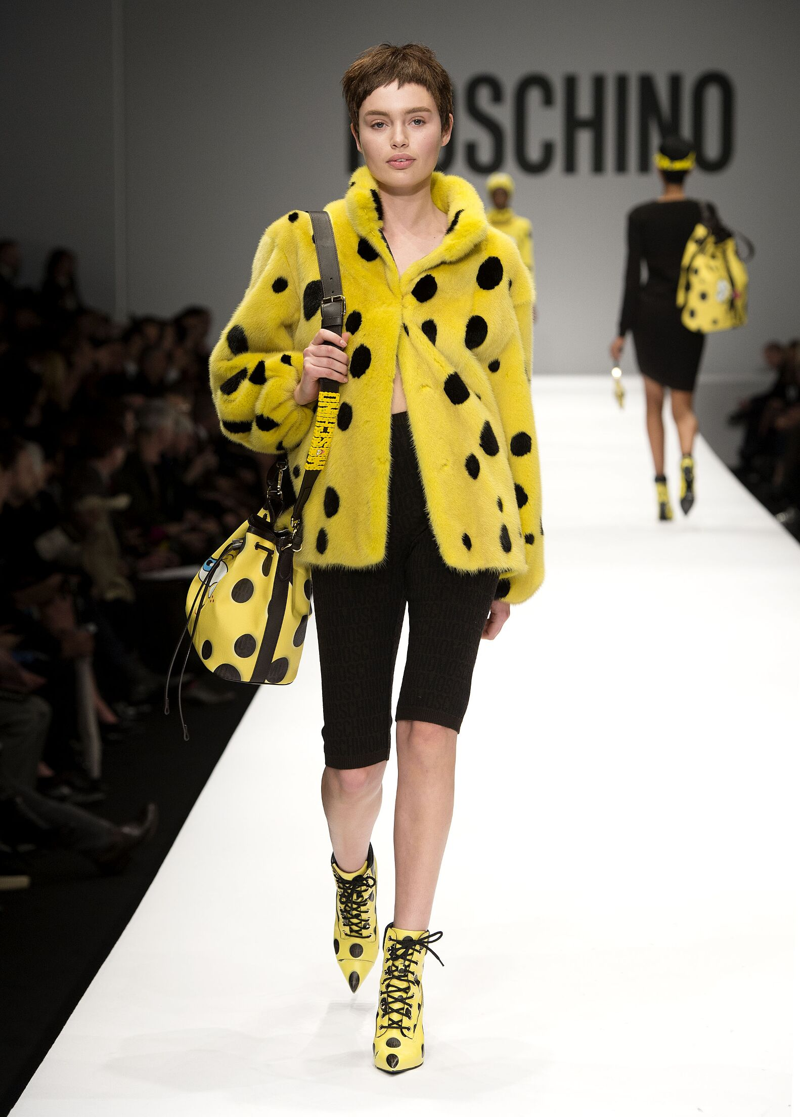 Moschino Runway Jeremy Scott