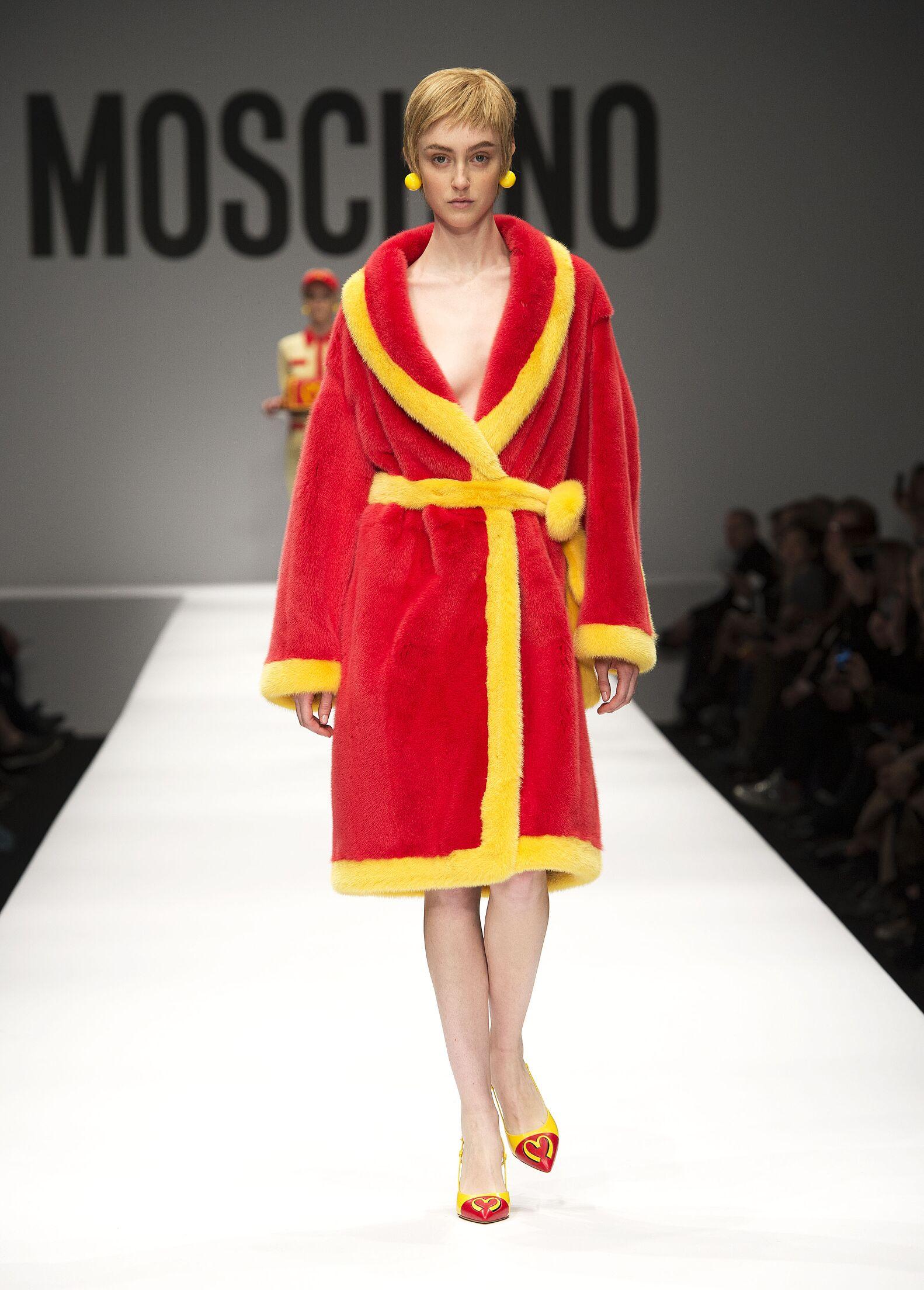 Moschino Woman 2014 by Jeremy Scott