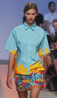 MSGM SPRING SUMMER 2014 WOMEN'S COLLECTION – MILANO FASHION WEEK