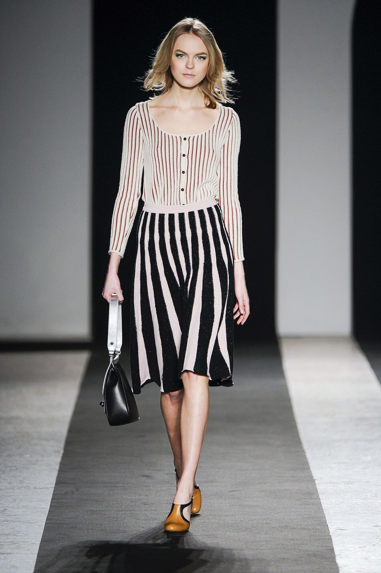 Runway Andrea Incontri Fall Winter 2014 15 Women Collection Milan Fashion Week