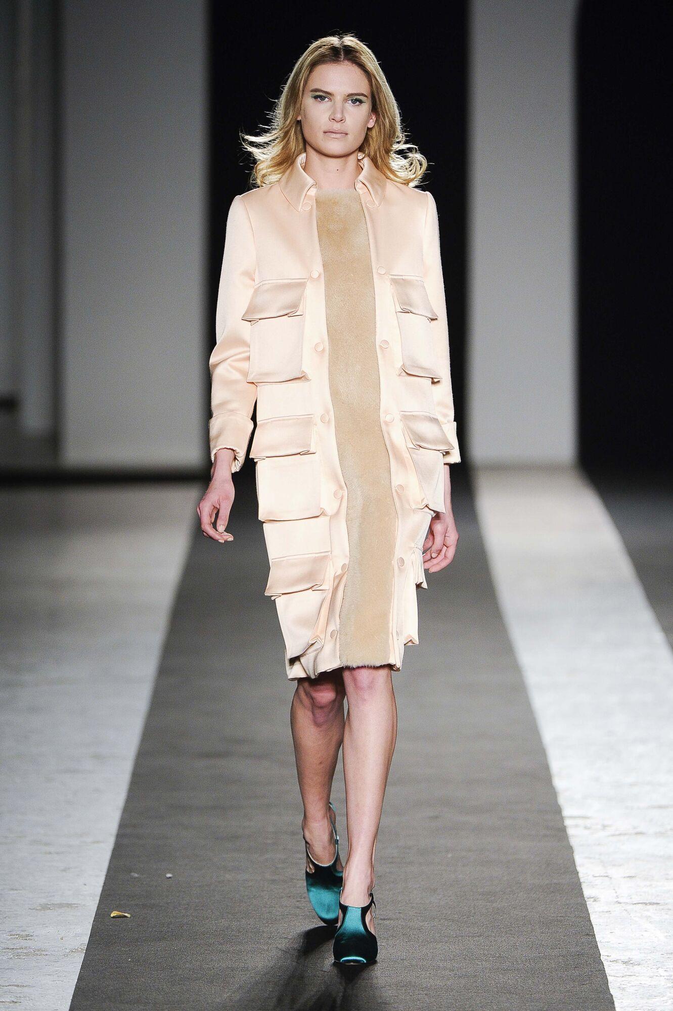 Runway Andrea Incontri Fashion Show Winter 2014