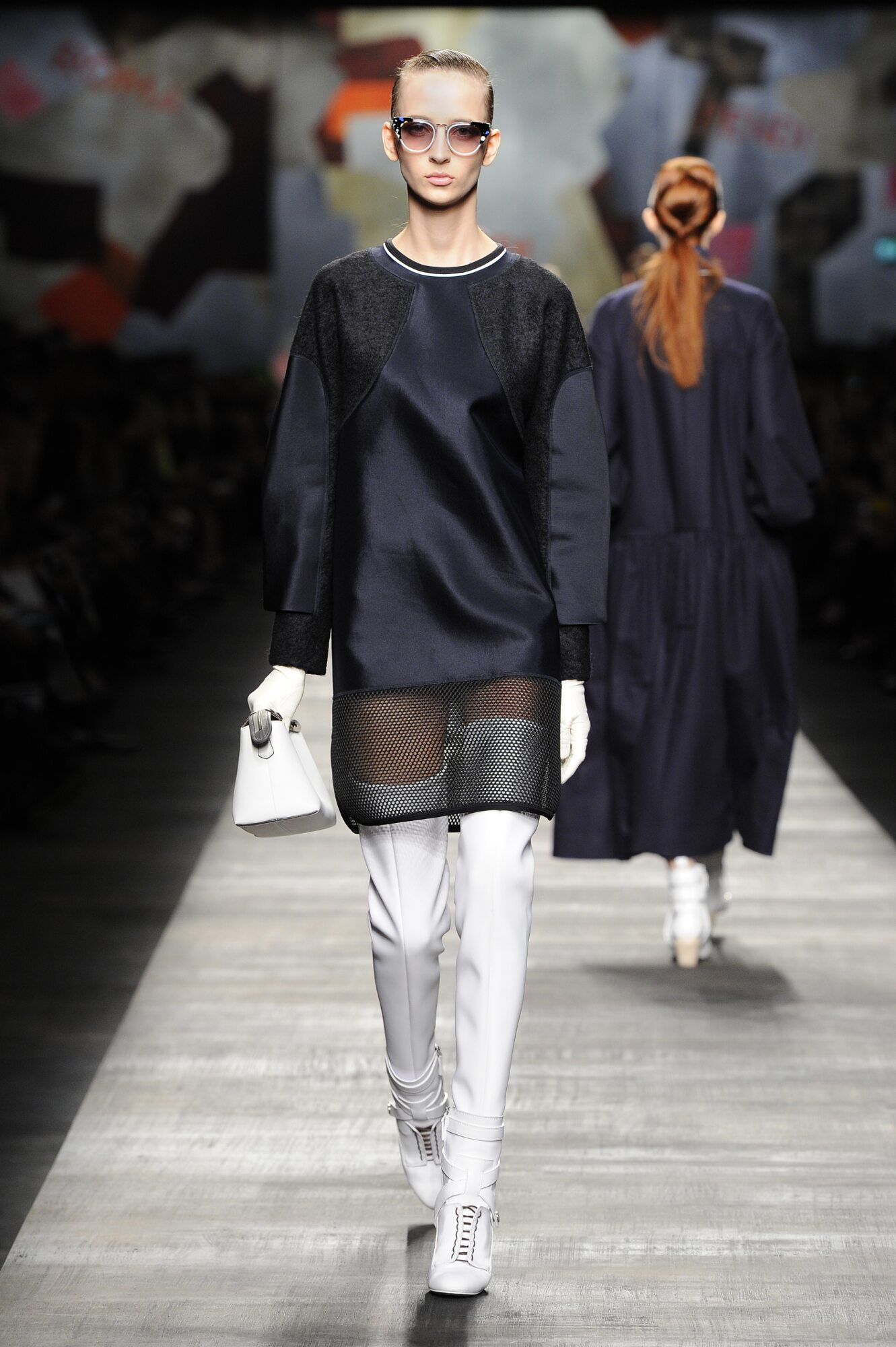 Runway Fendi Fall Winter 2014 15 Women Collection Milan Fashion Week