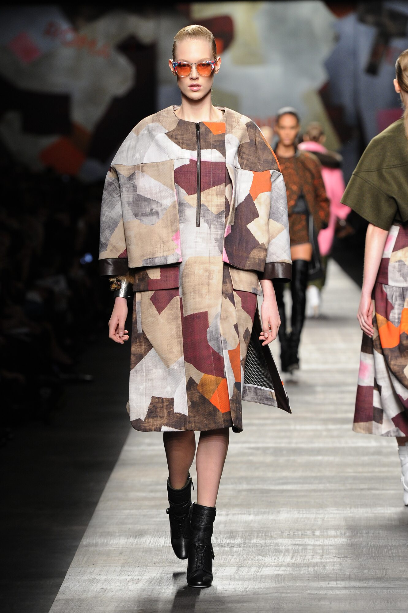 Runway Fendi Fall Winter 2014 15 Women Collection Milano Fashion Week